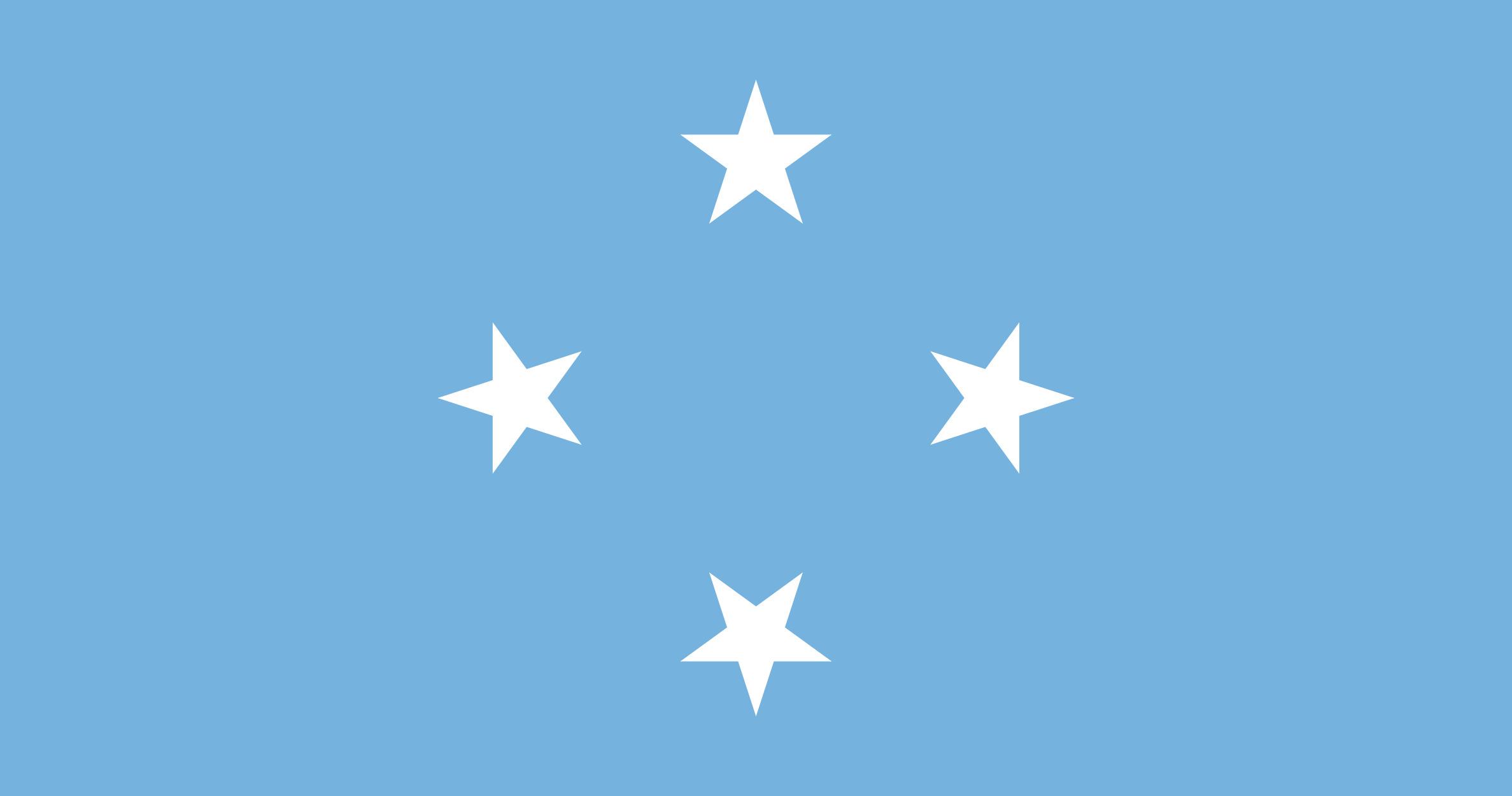 Micronesia Flag Colours