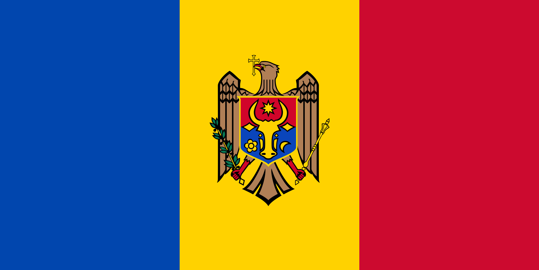 Moldova Flag Colours