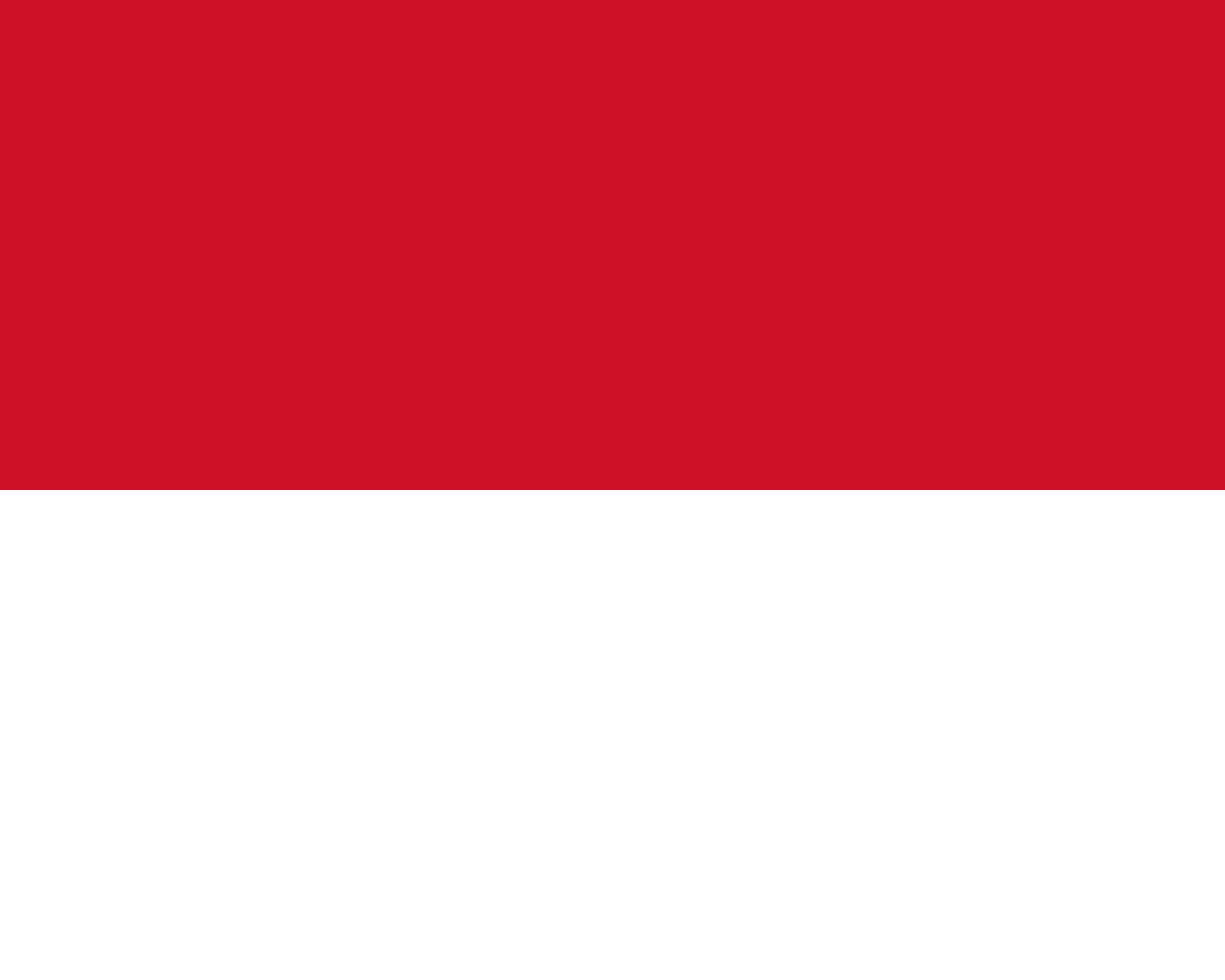 Monaco Flag Colours