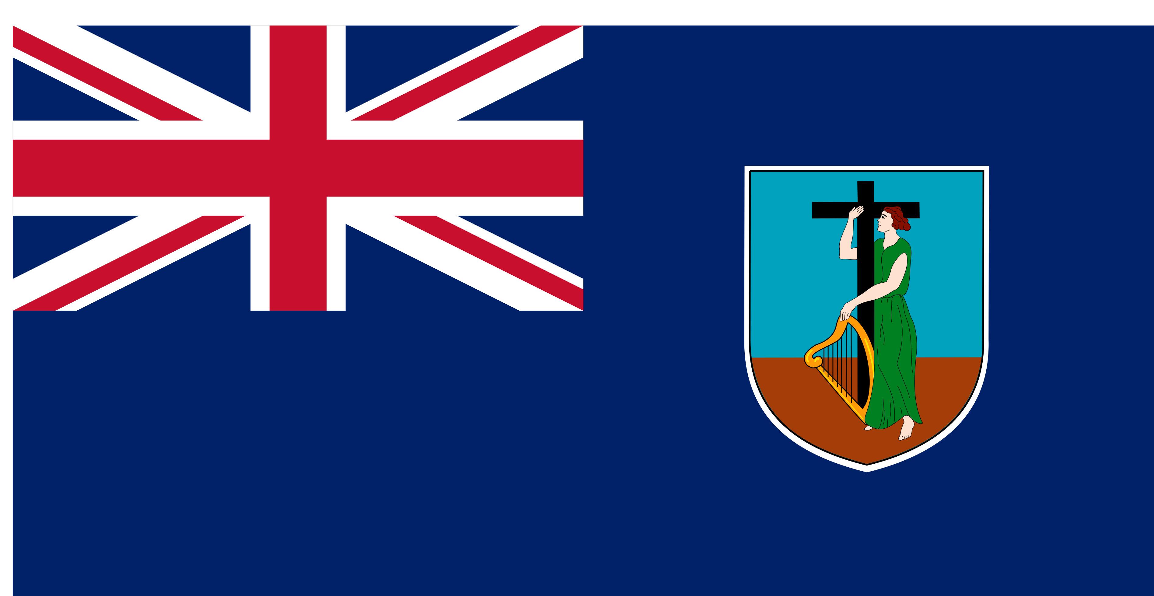 Montserrat Flag Colours