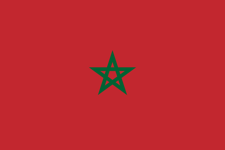 Morocco Flag Colours