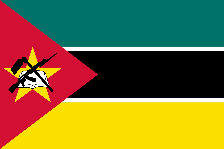 Mozambique Flag Colours