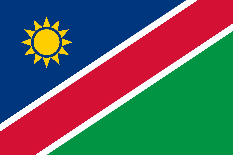 Namibia Flag Colours