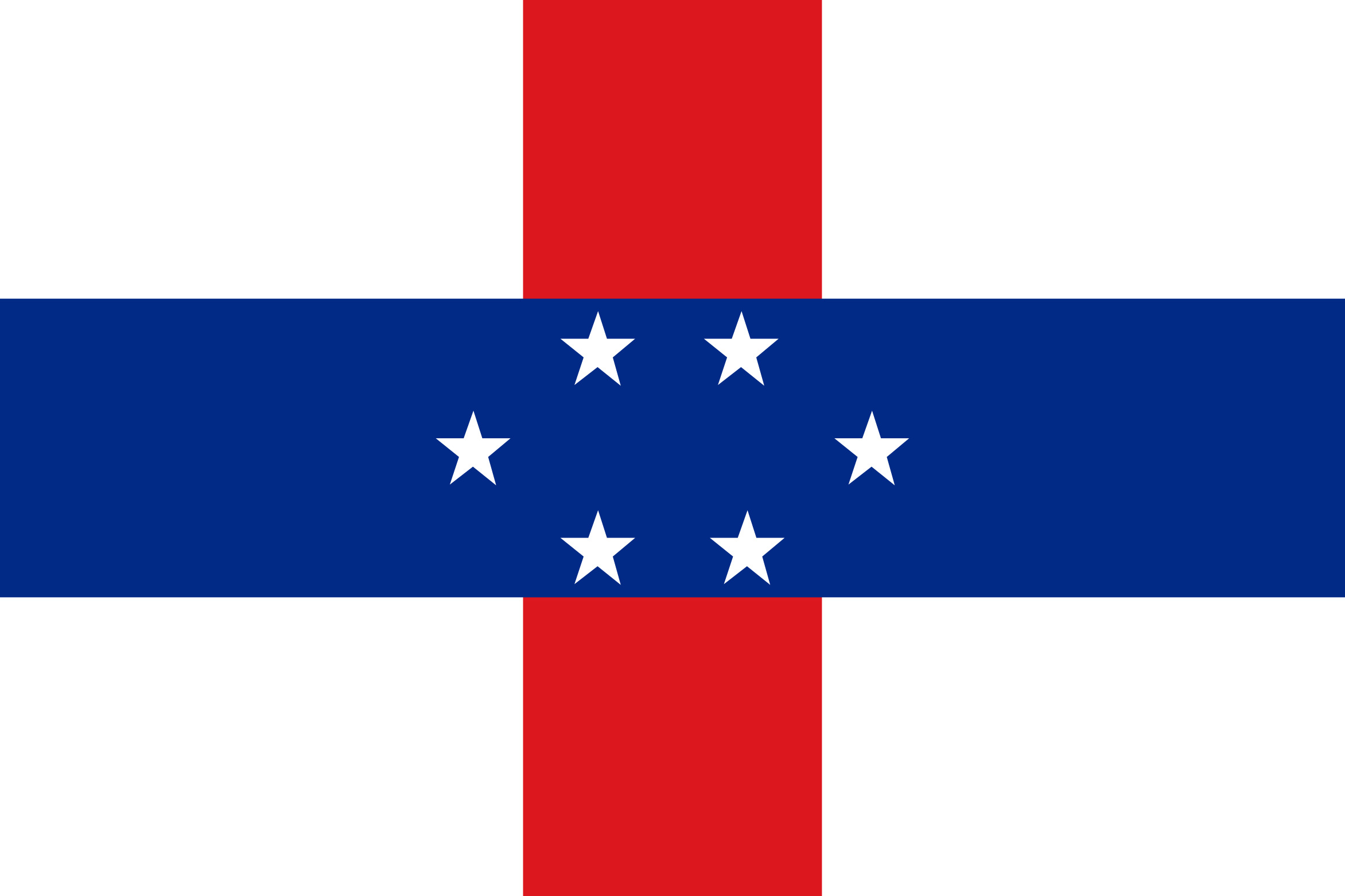 Netherlands_Antilles Flag Colours