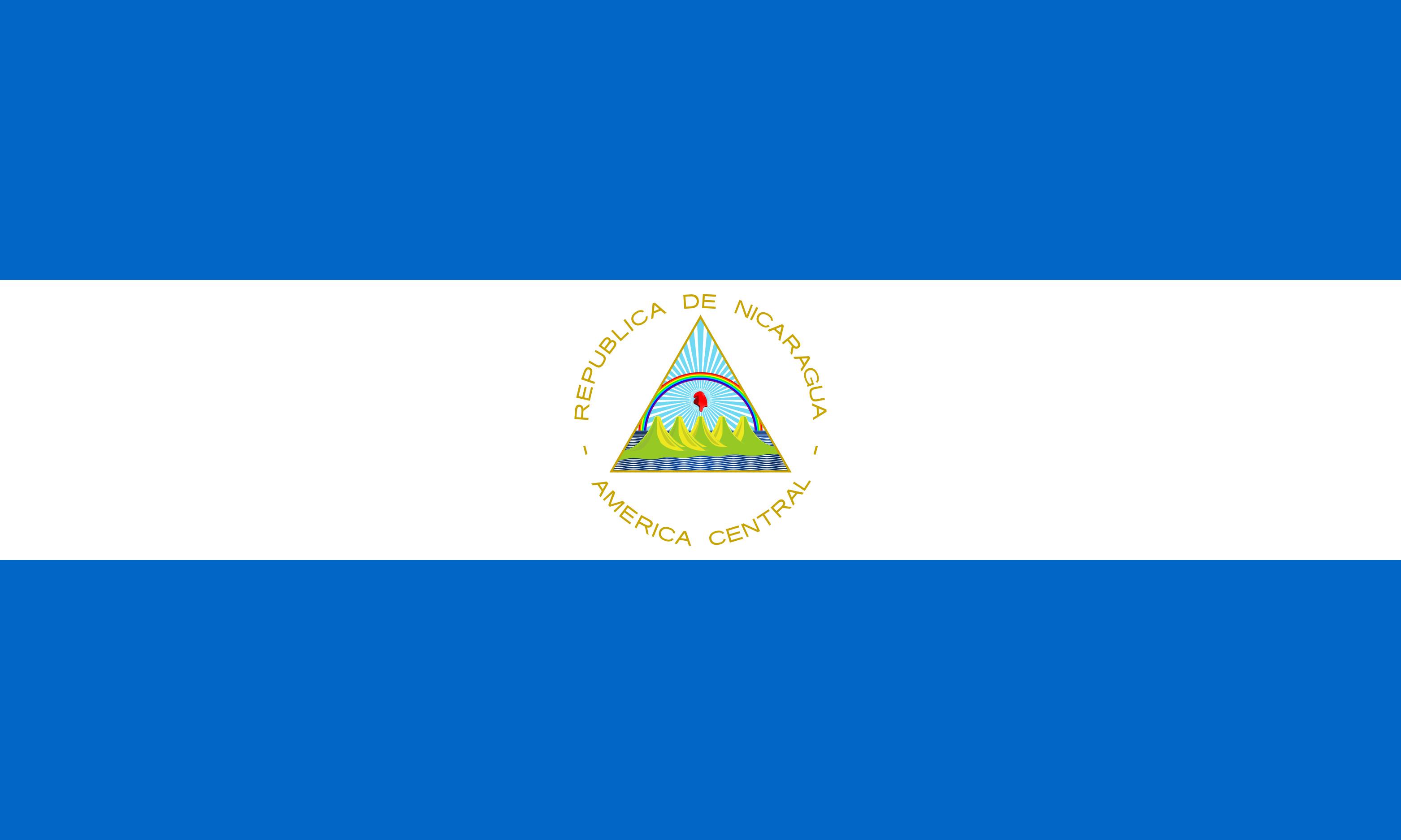 Nicaragua Flag Colours