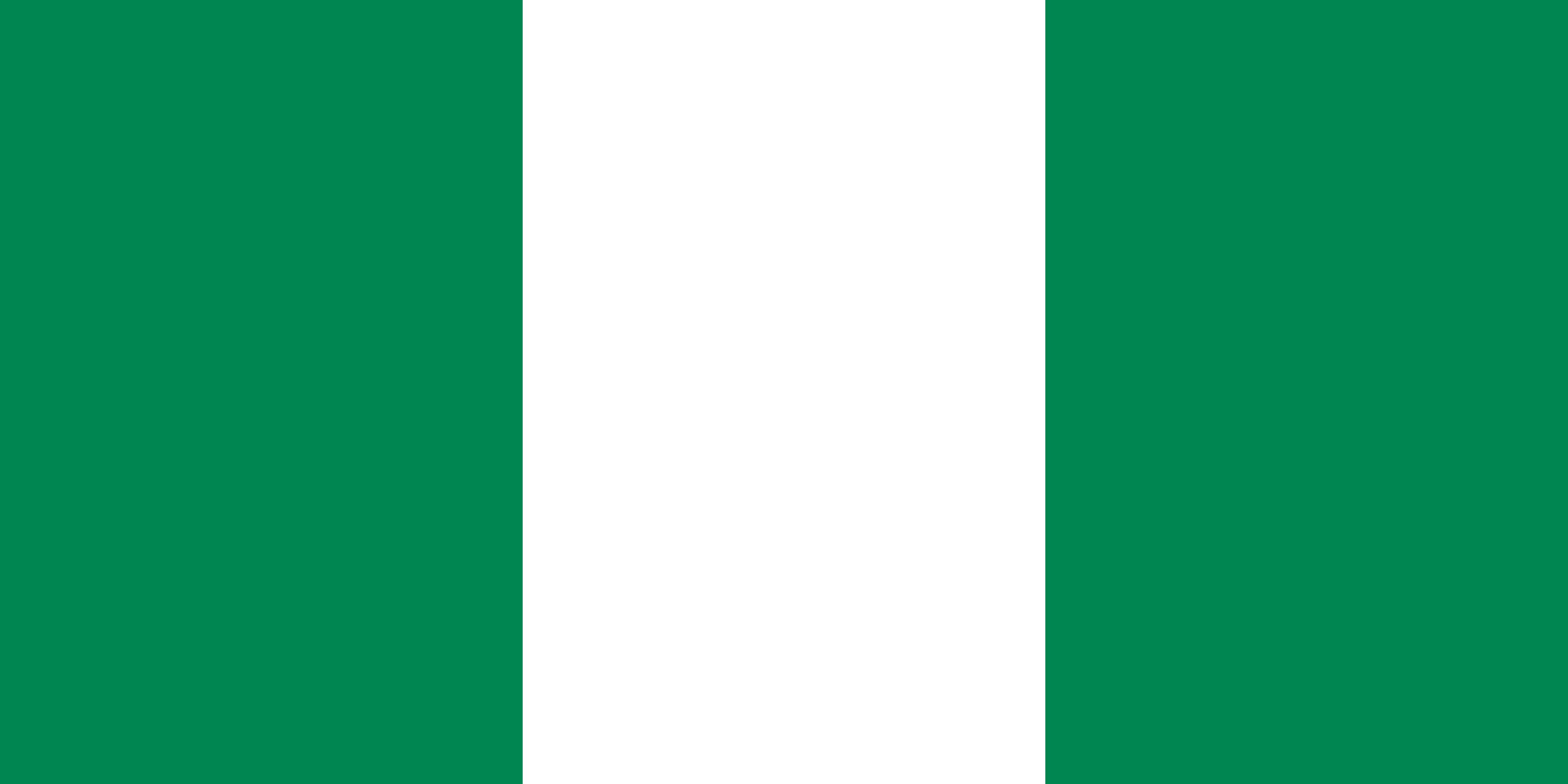 Nigeria Flag Colours