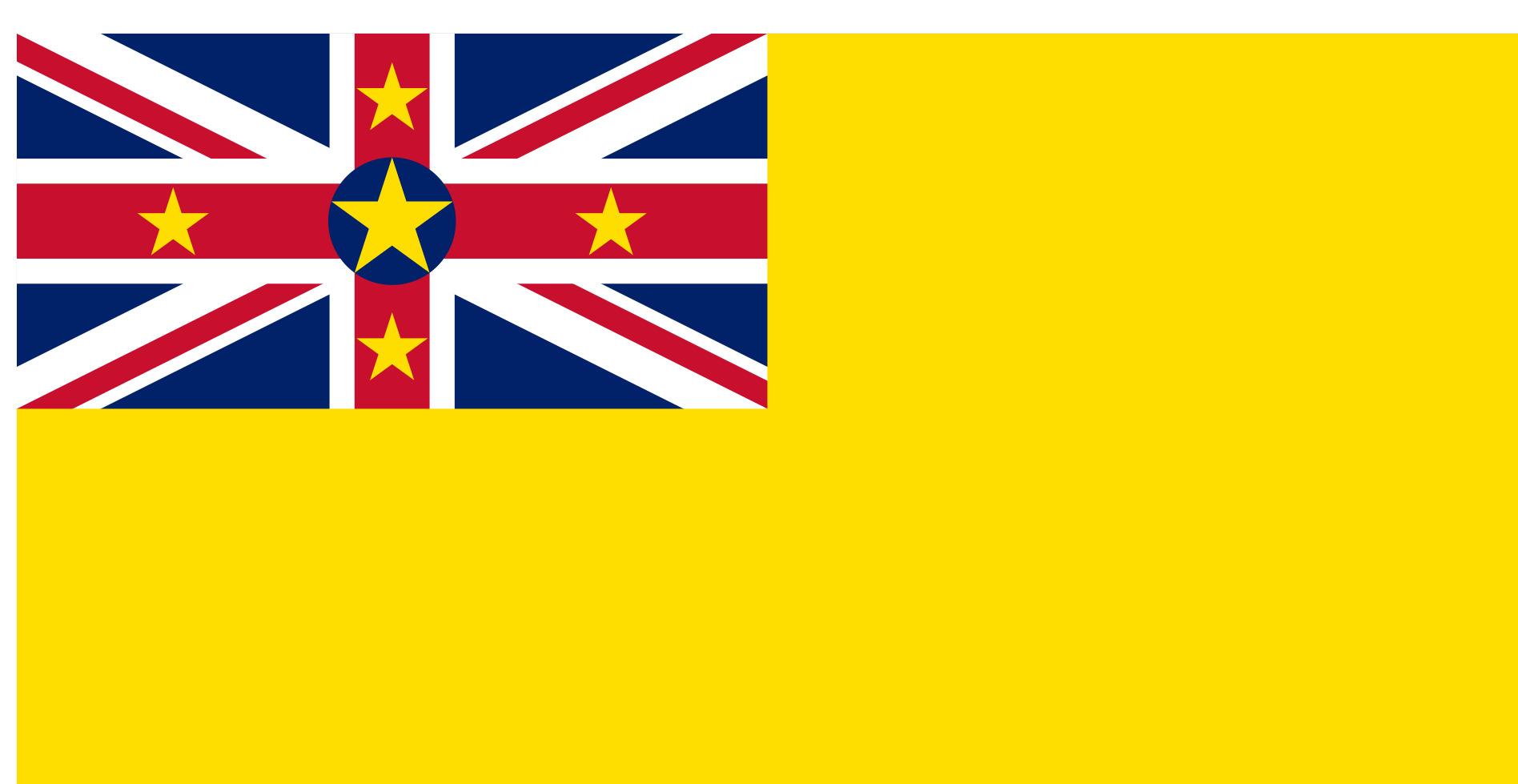 Niue Flag Colours
