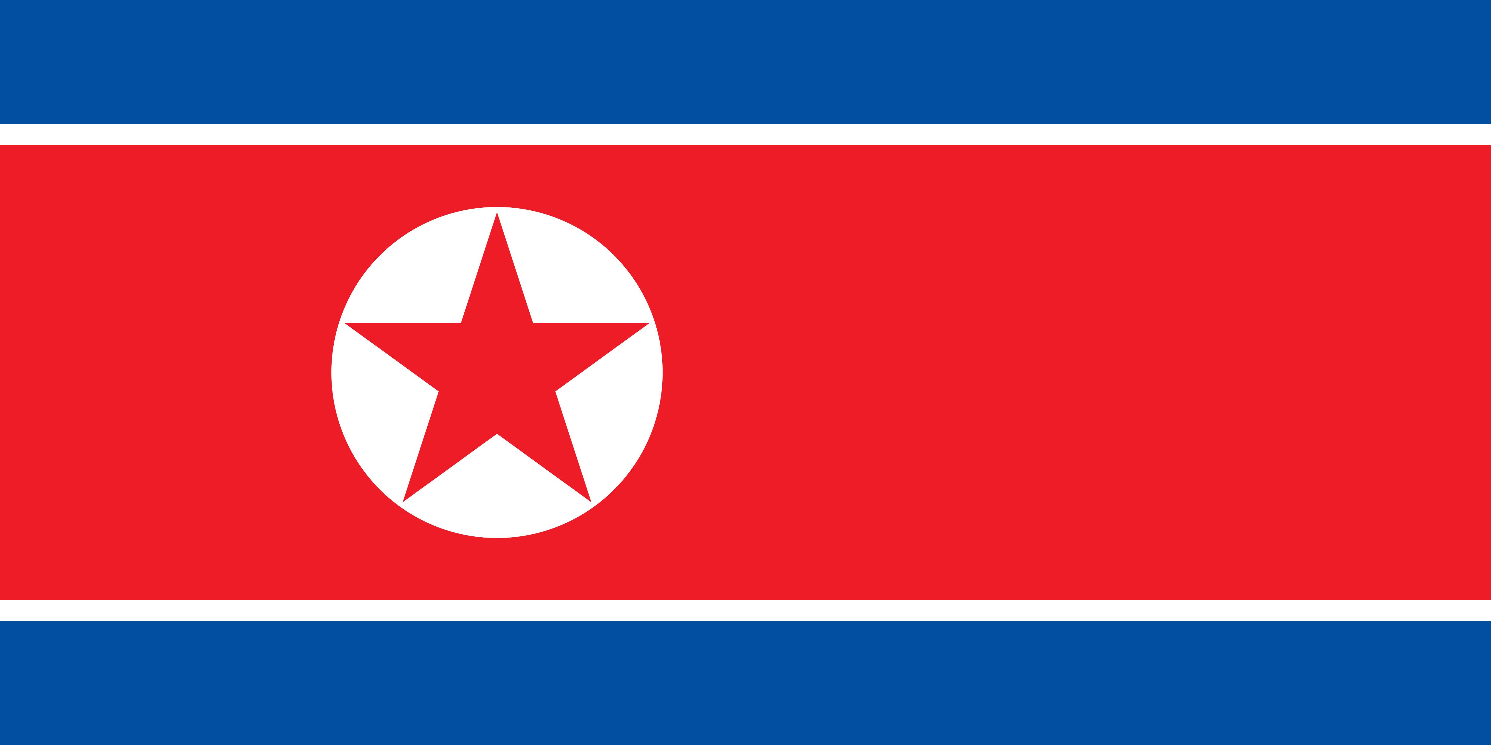 North_Korea Flag Colours