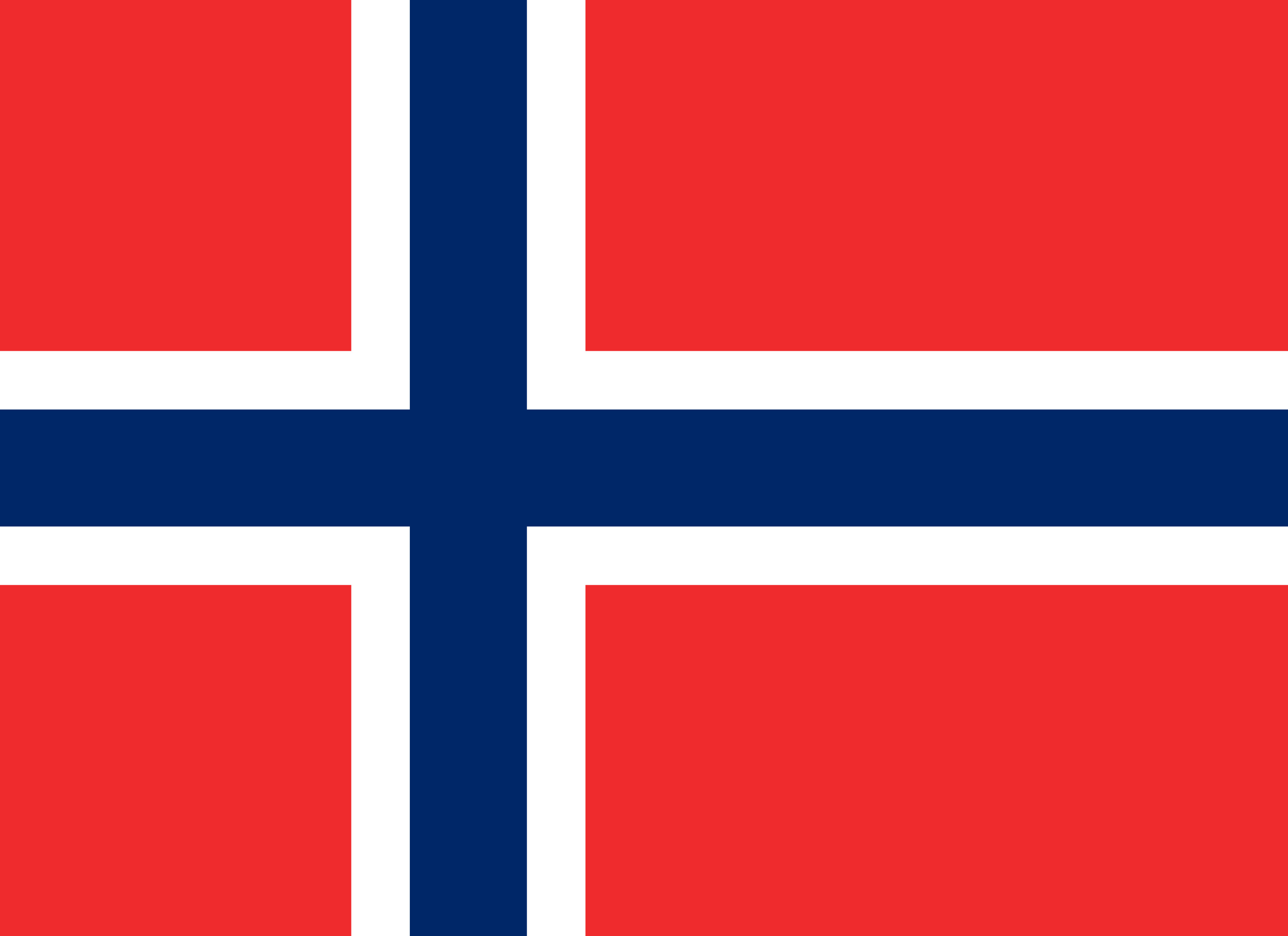 Norway Flag Colours