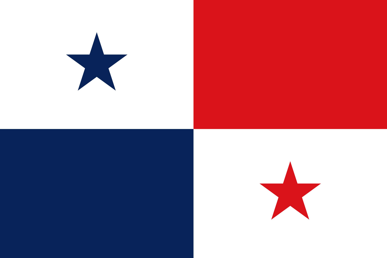 Panama Flag Colours
