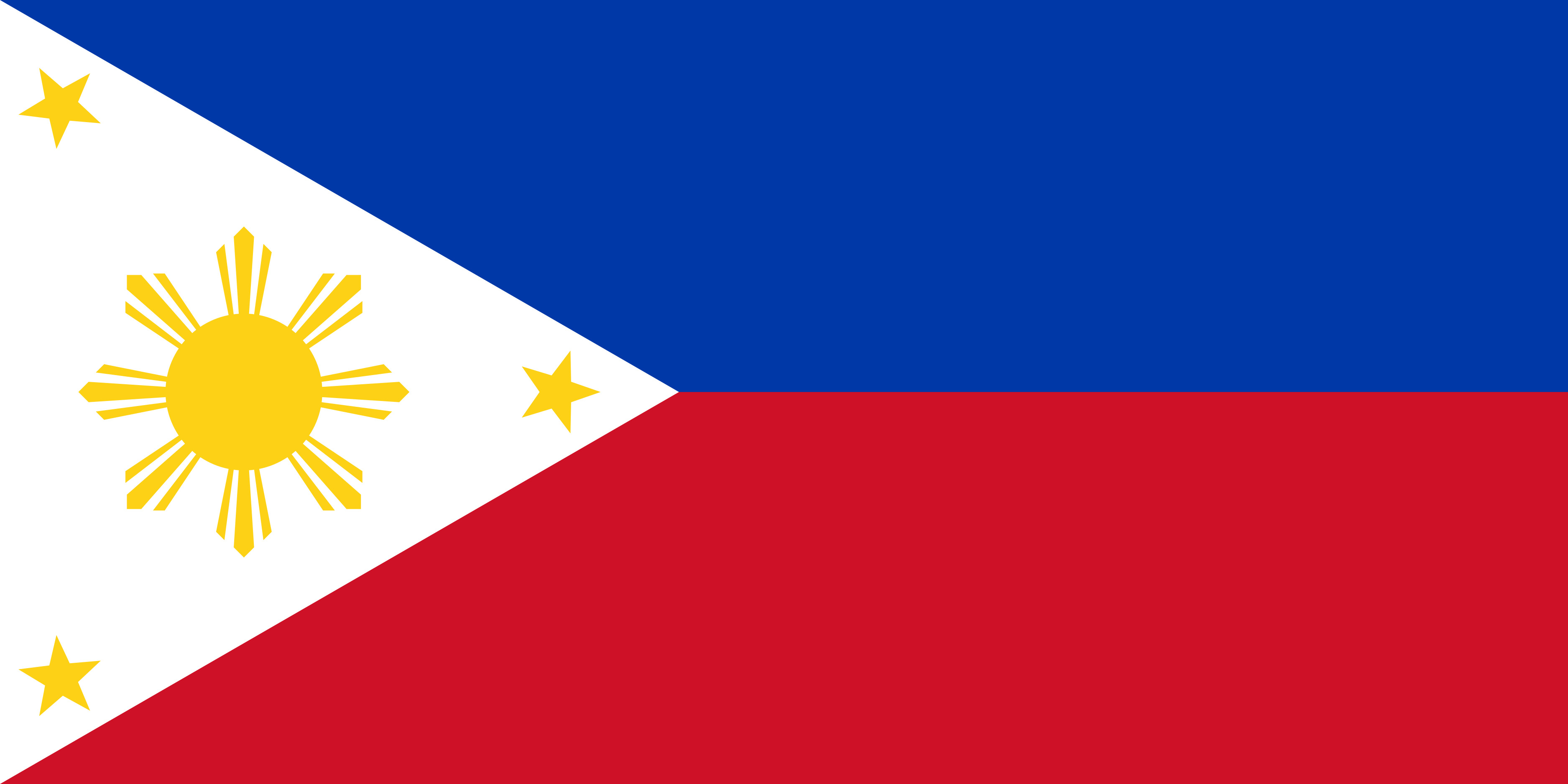 Philippines Flag Colours