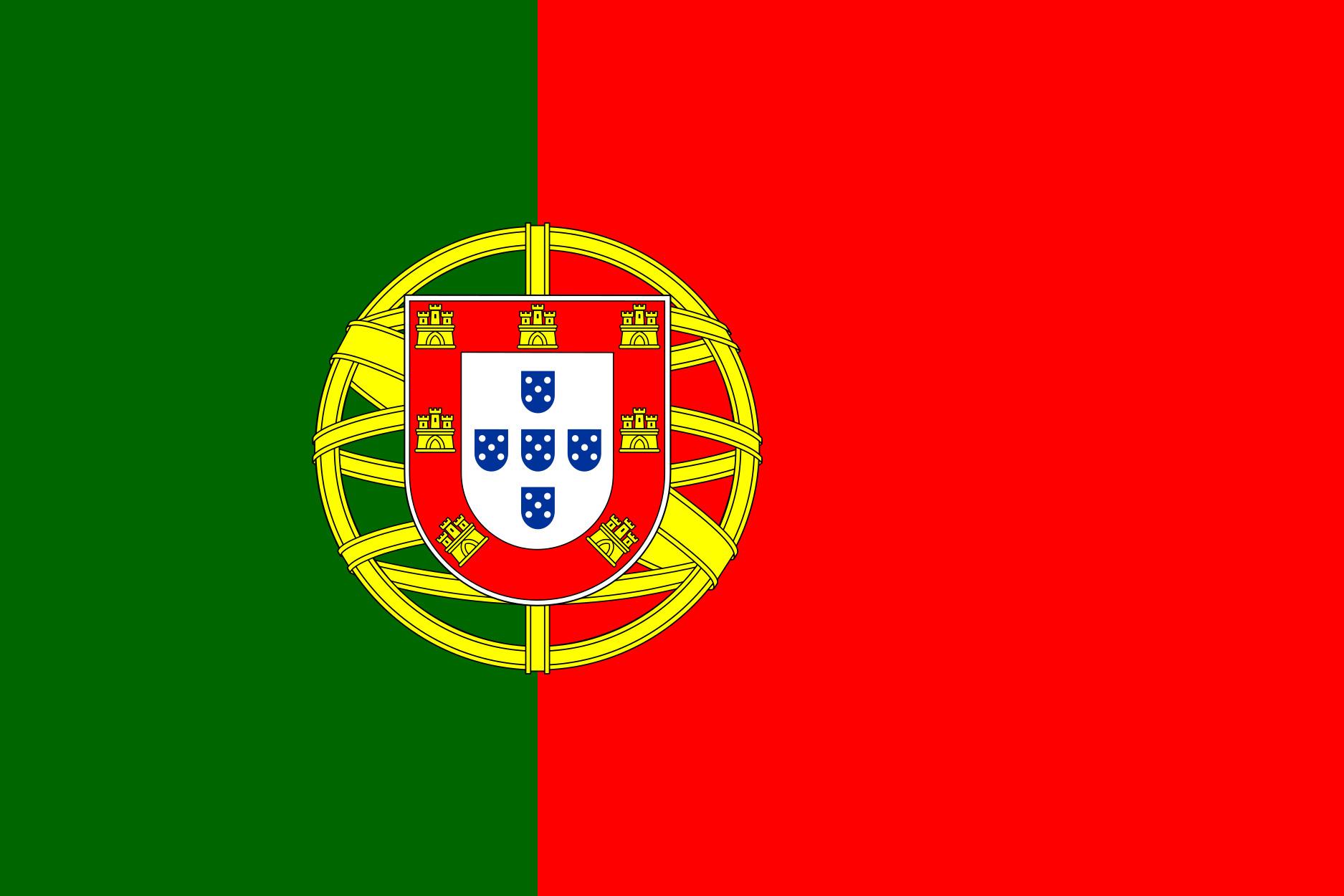 Portugal Flag Colours