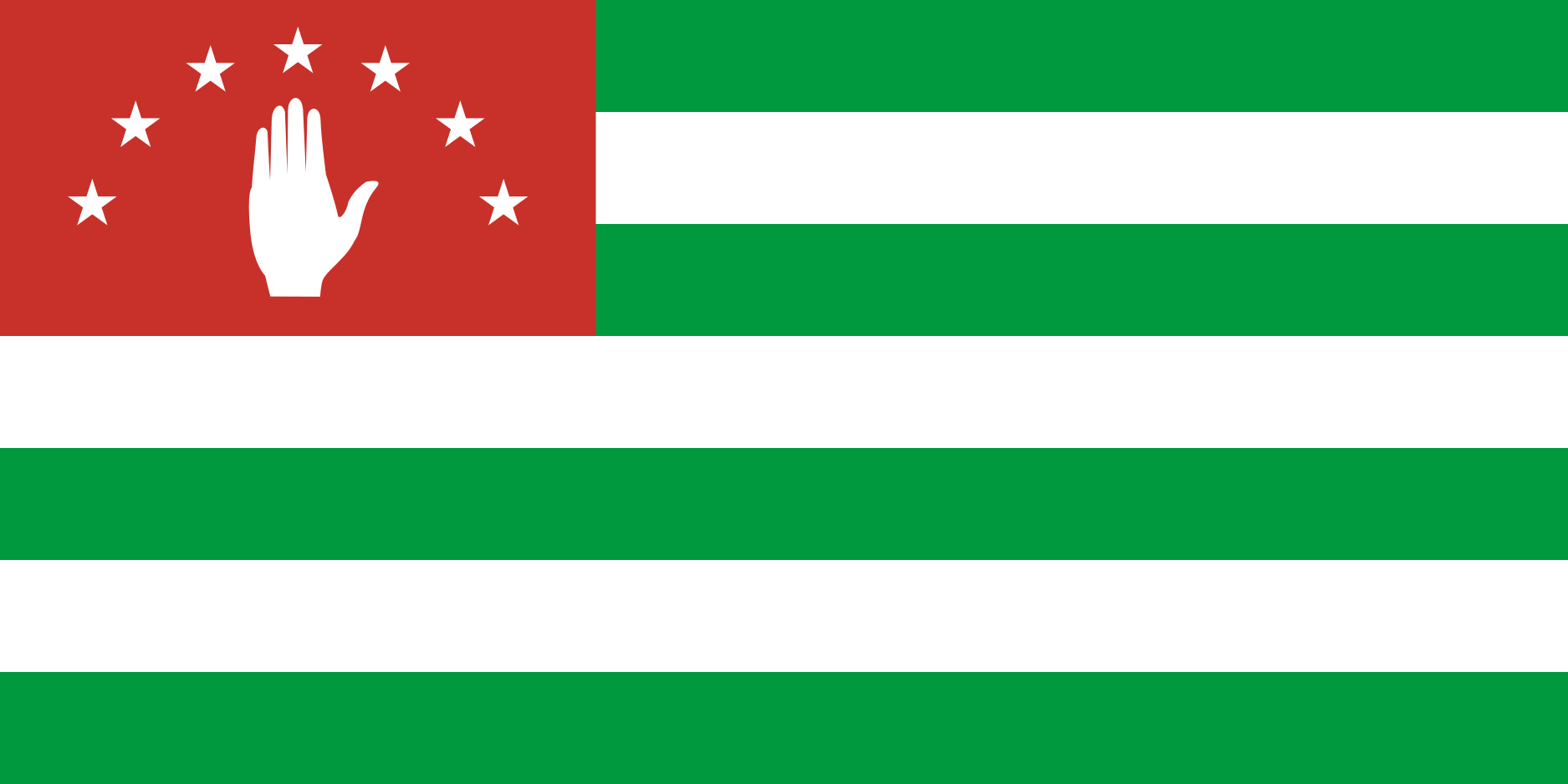 Republic_of_Abkhazia Flag Colours