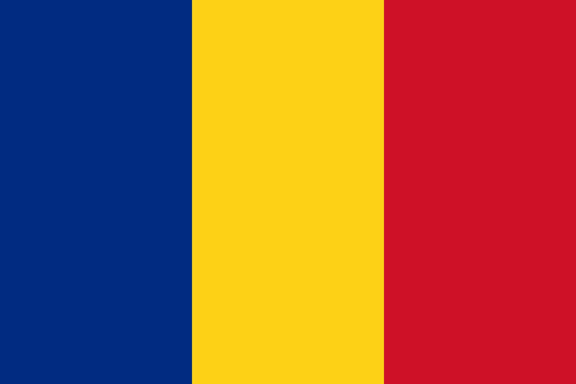 Romania Flag Colours