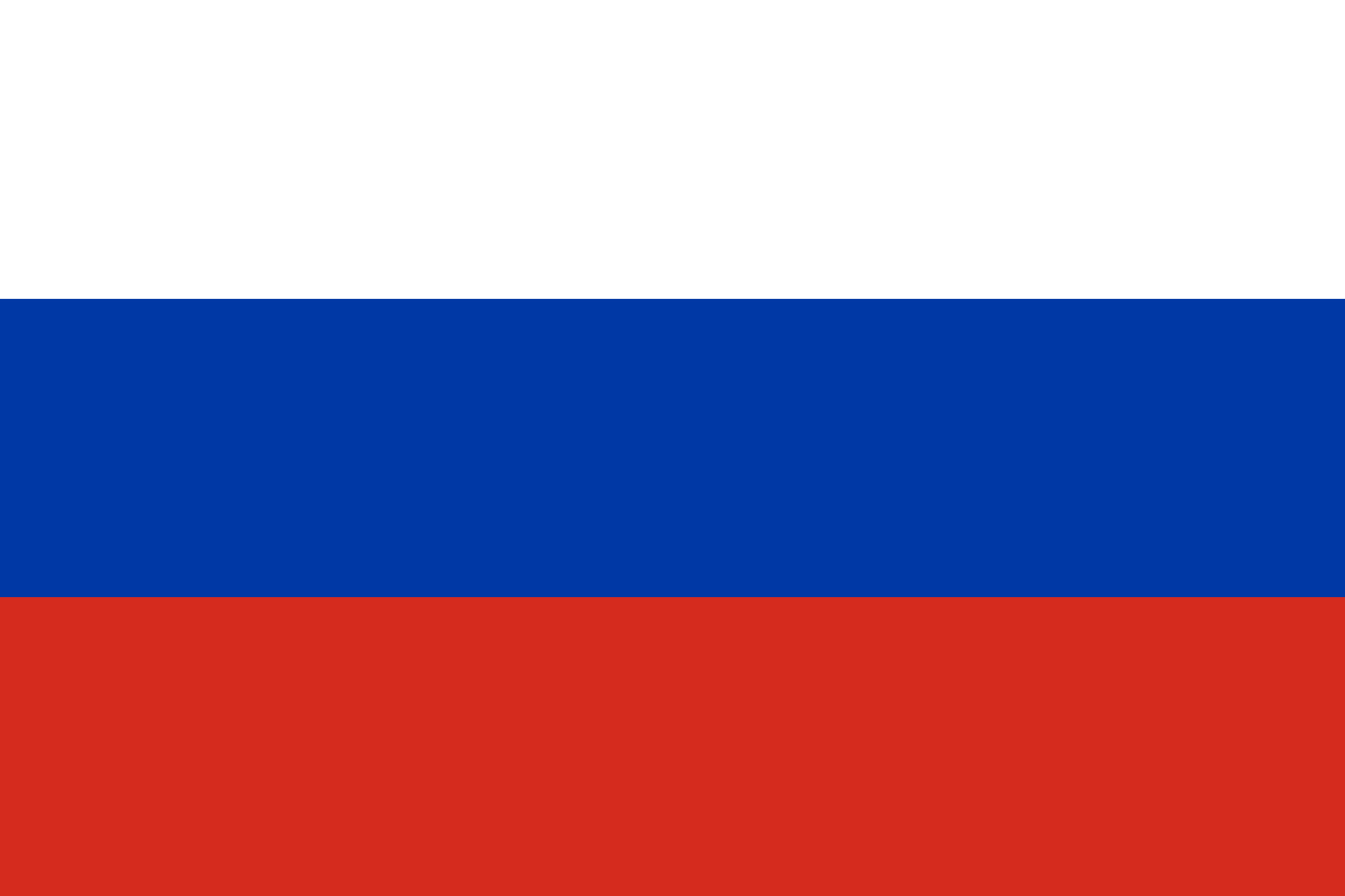 Russia Flag Colours