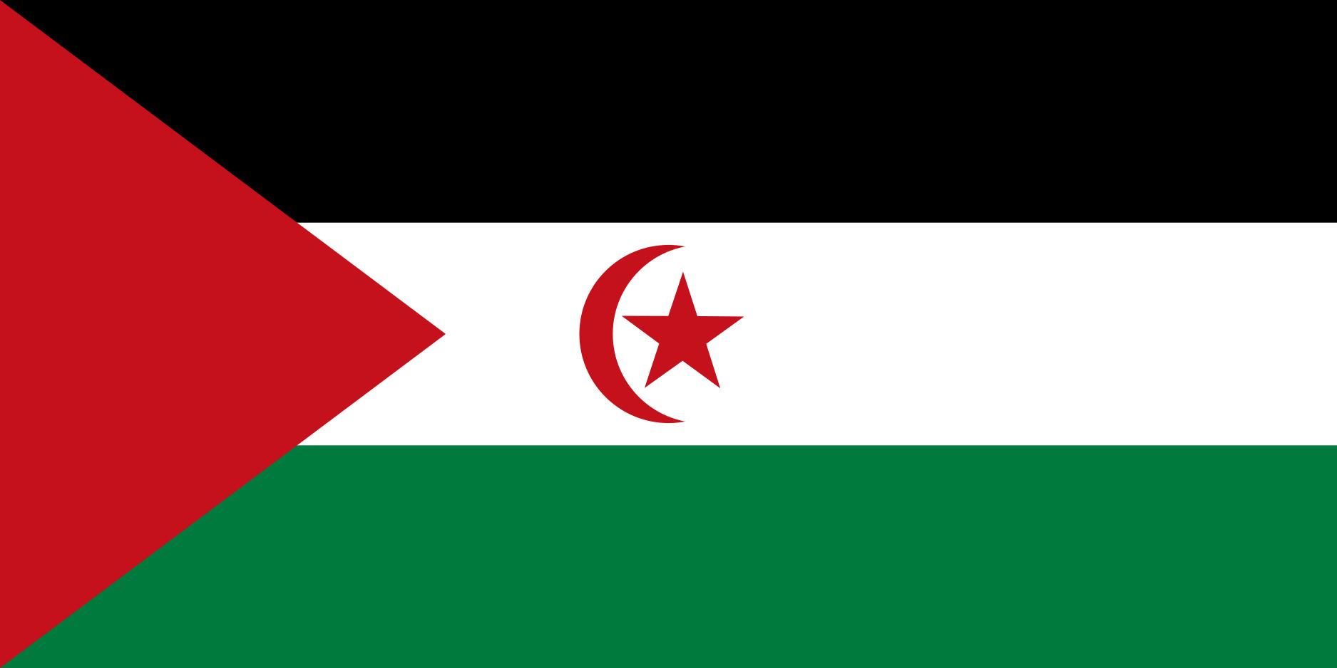 Sahrawi_Arab_Democratic_Republic Flag Colours