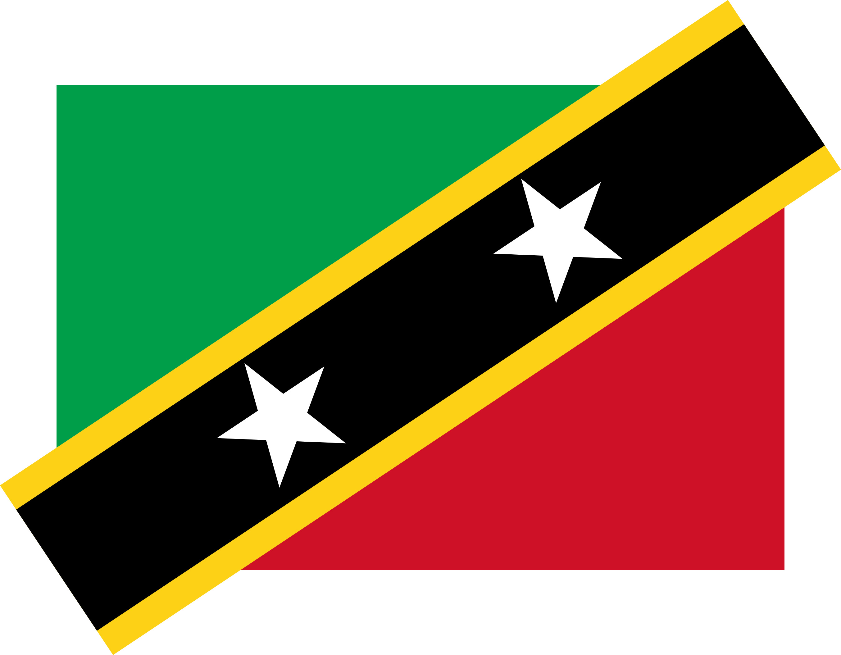 Saint_Kitts_and_Nevis Flag Colours
