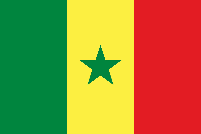 Senegal Flag Colours