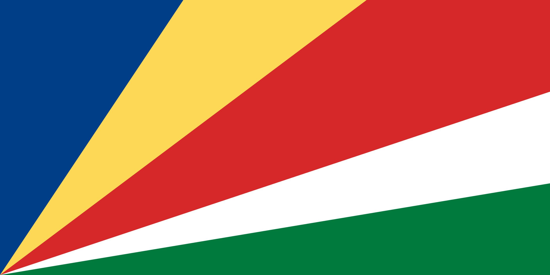 Seychelles Flag Colours