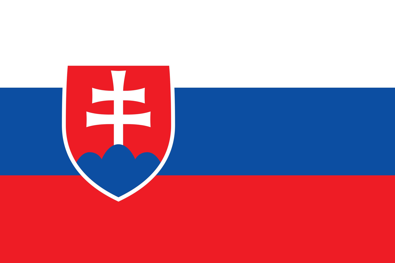 Slovakia Flag Colours