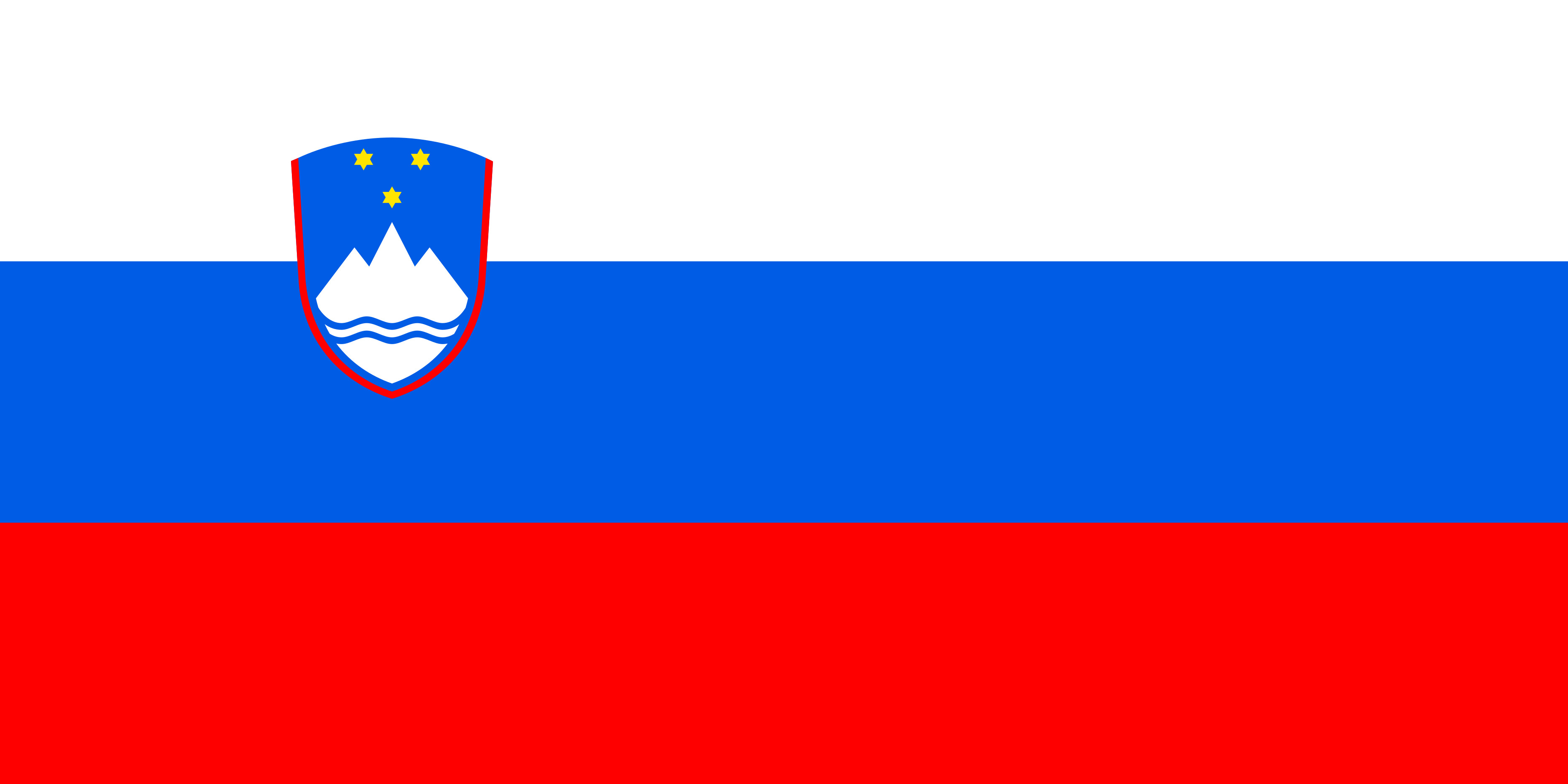 Slovenia Flag Colours