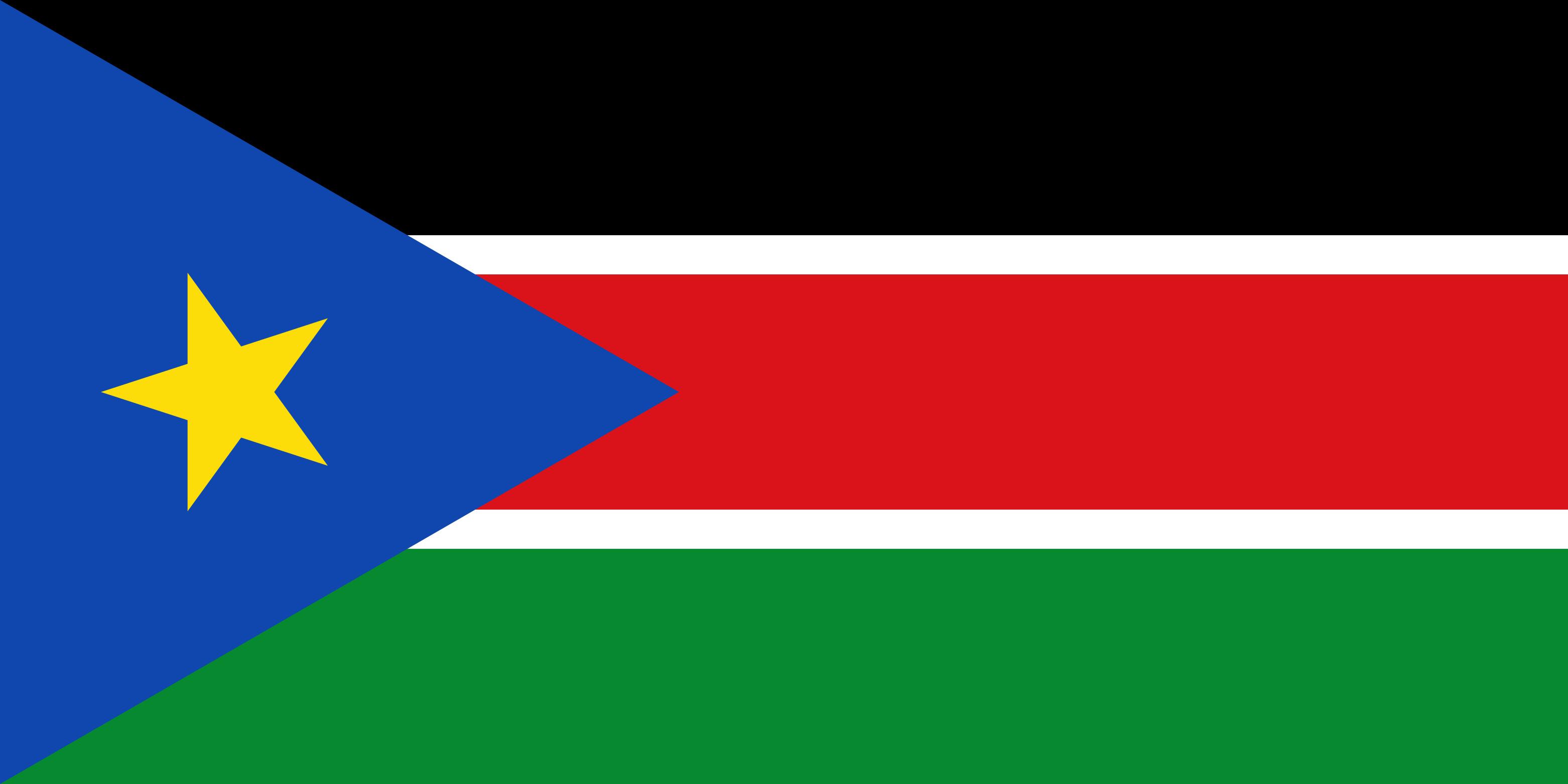 South_Sudan Flag Colours