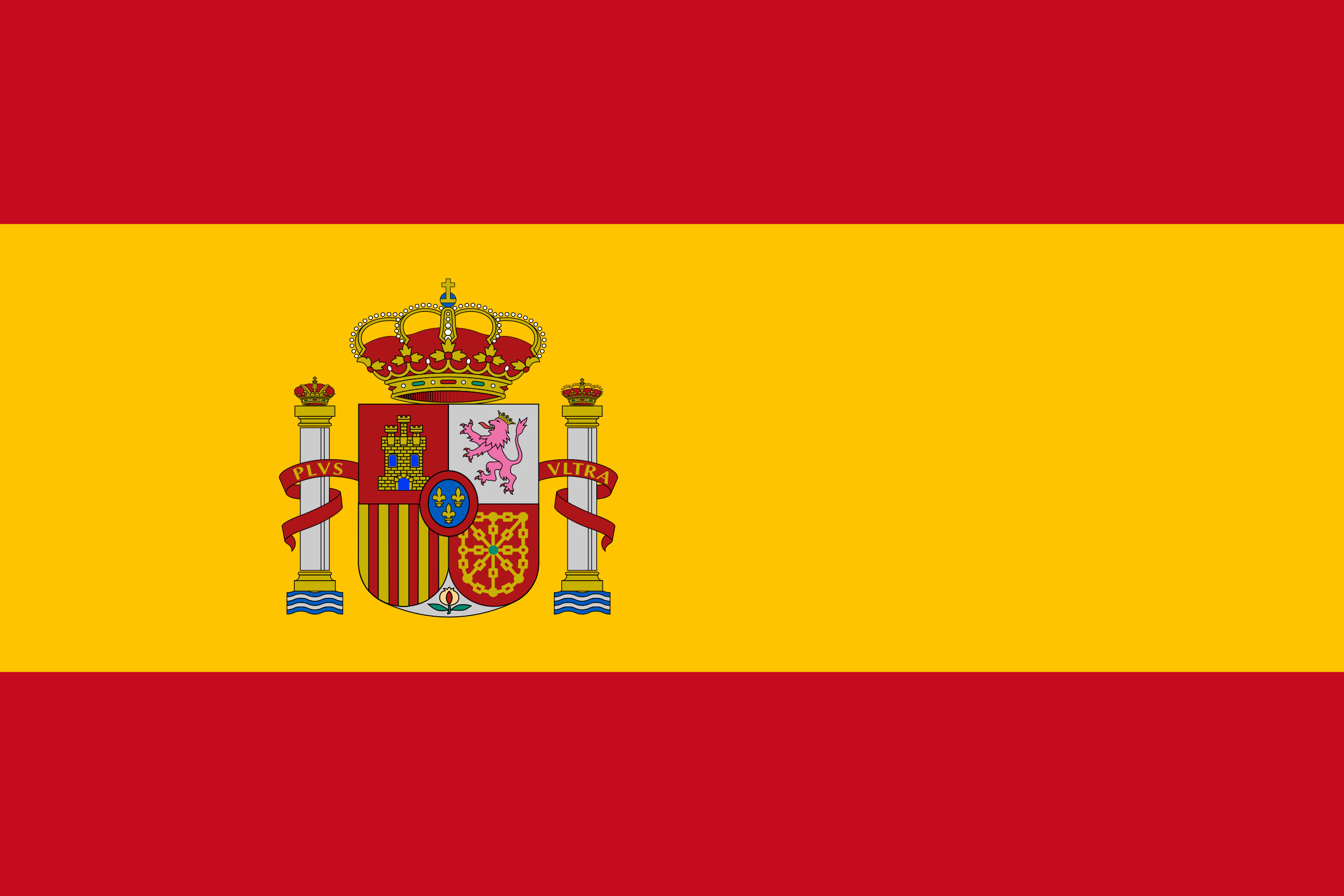 Spain Flag Colours