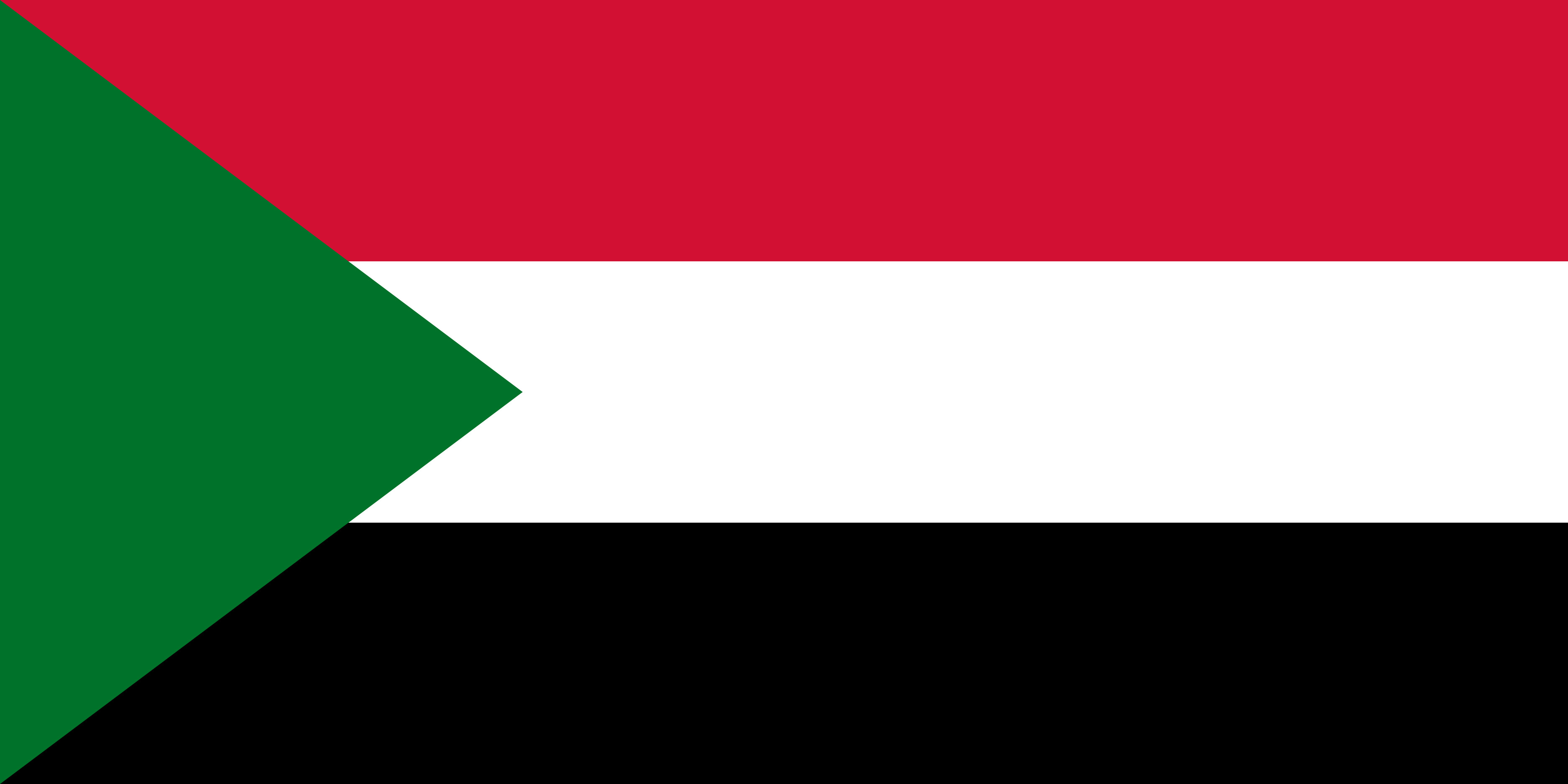 Sudan Flag Colours