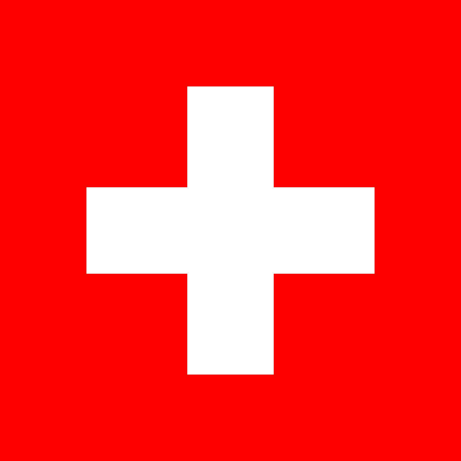 Switzerland Flag Colours