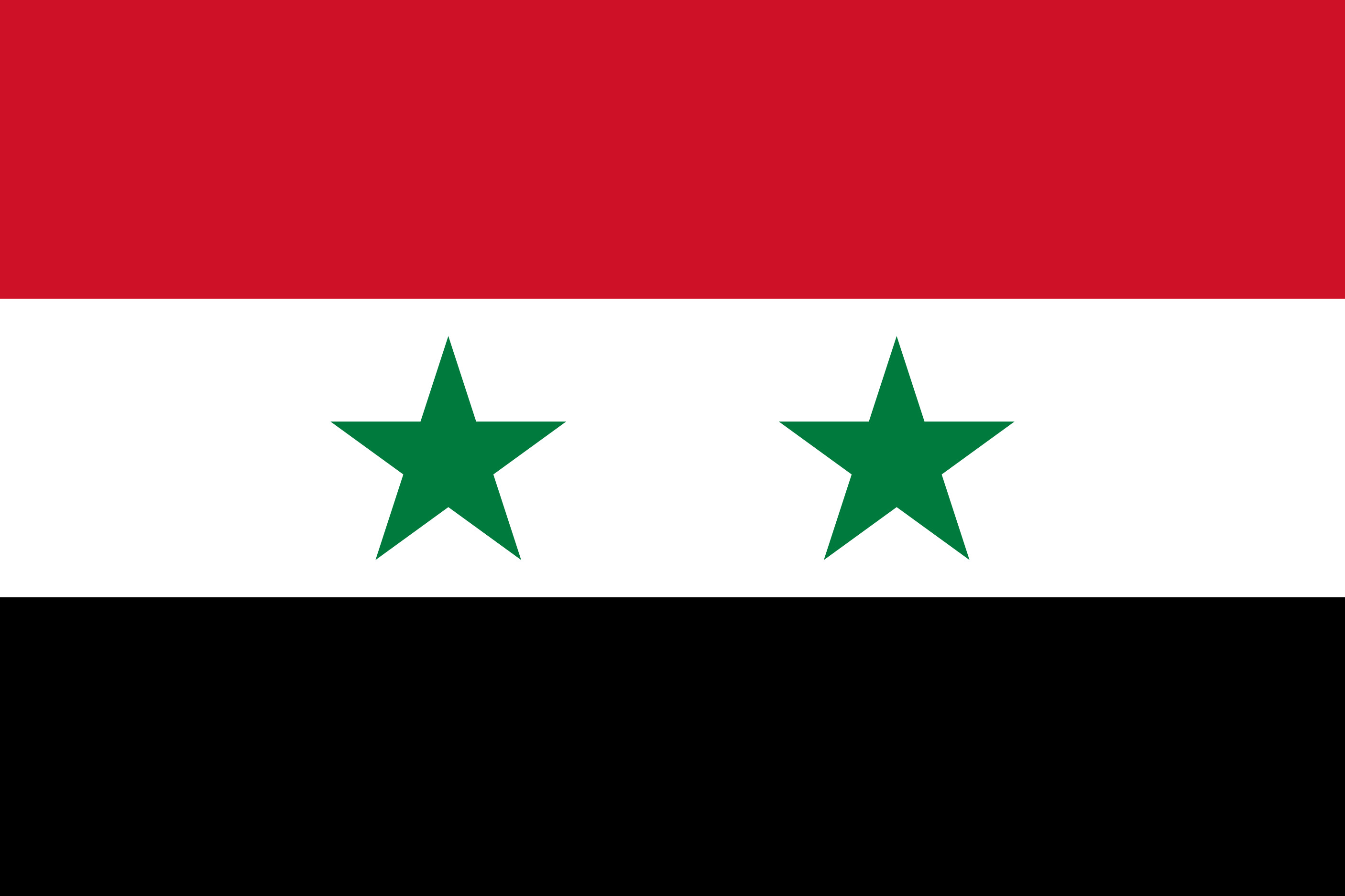 Syria Flag Colours