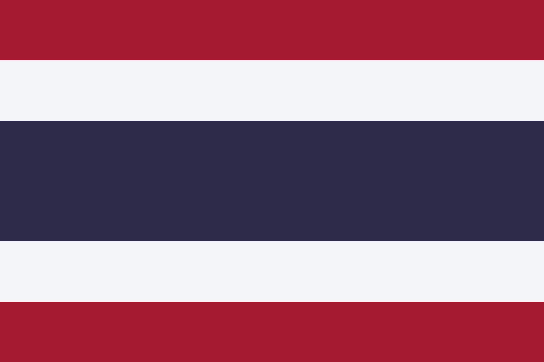 Thailand Flag Colours