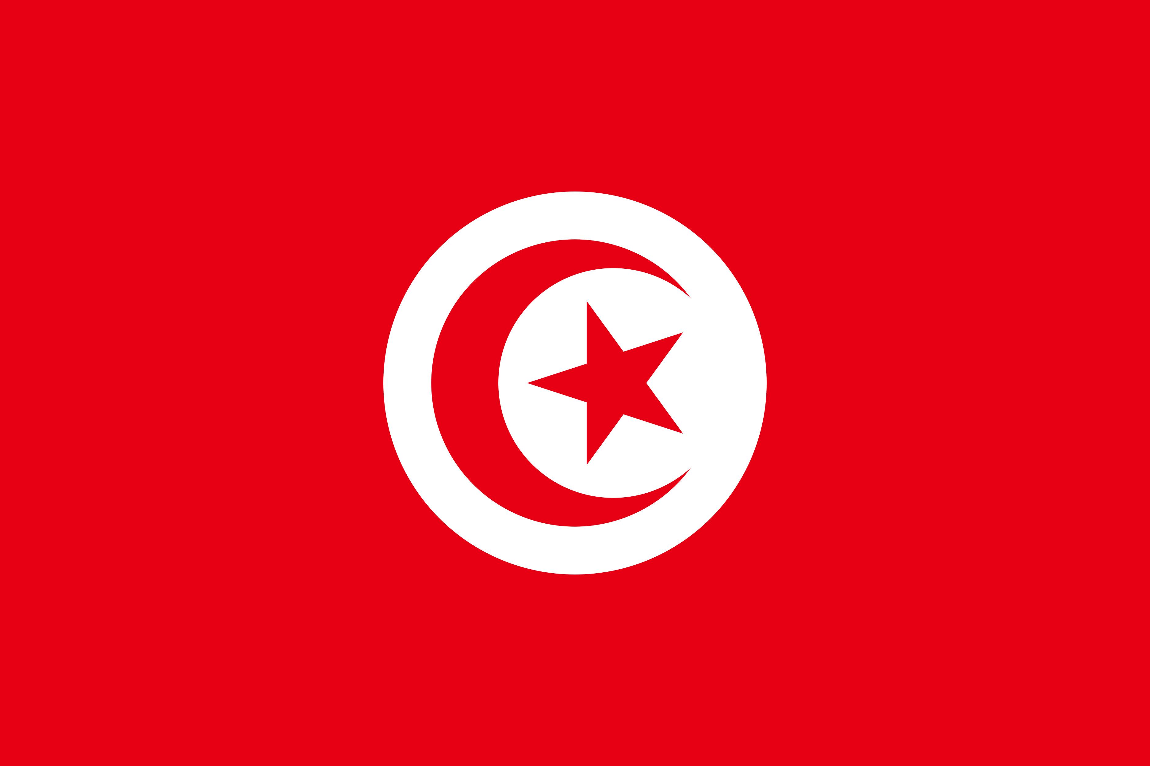 Tunisia Flag Colours