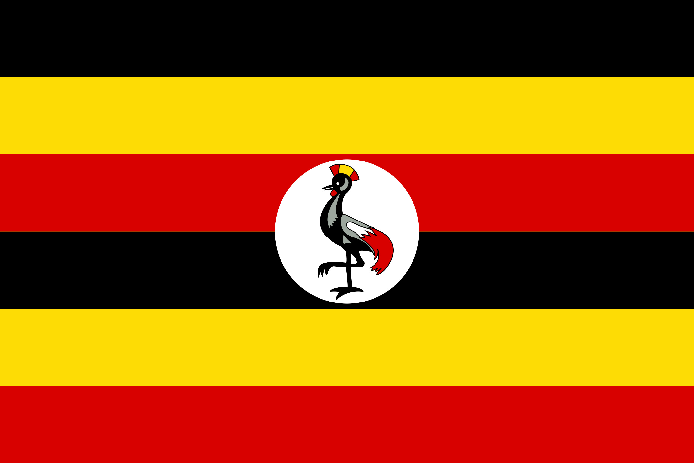 Uganda Flag Colours