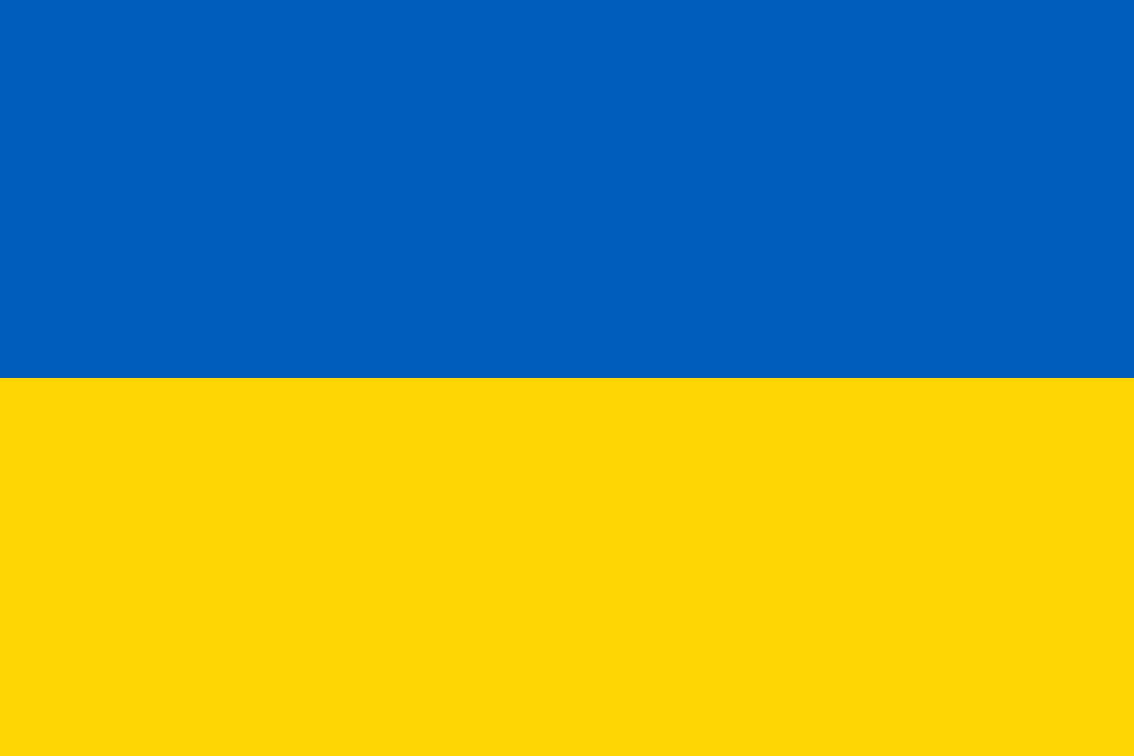 Ukraine Flag Colours