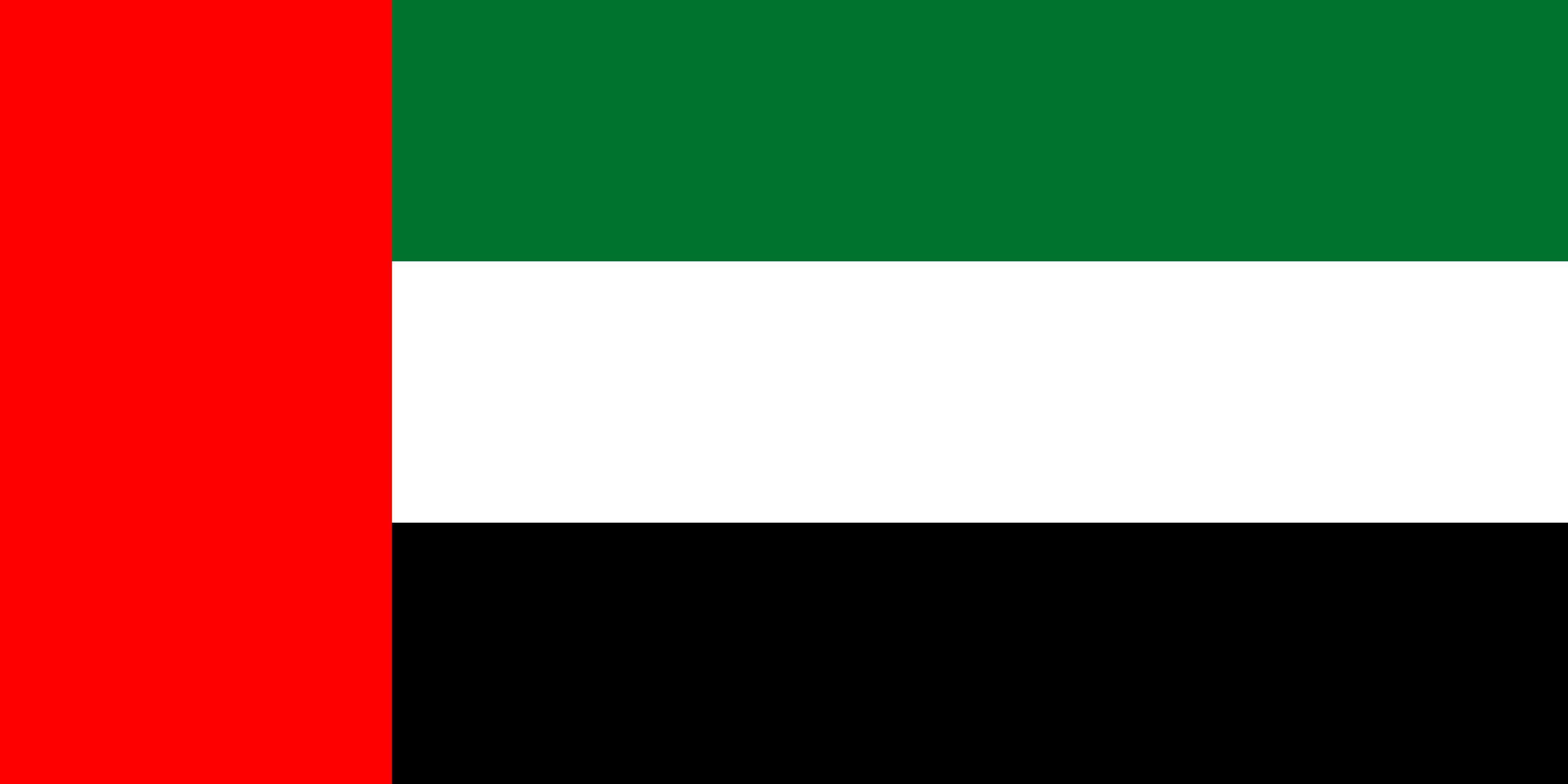United_Arab_Emirates Flag Colours