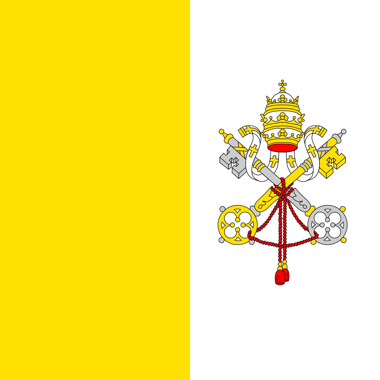 Vatican_City Flag Colours