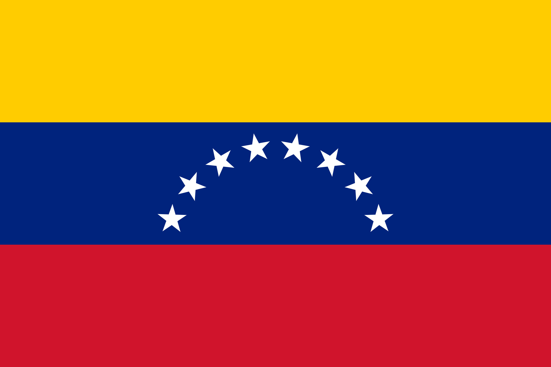 Venezuela Flag Colours