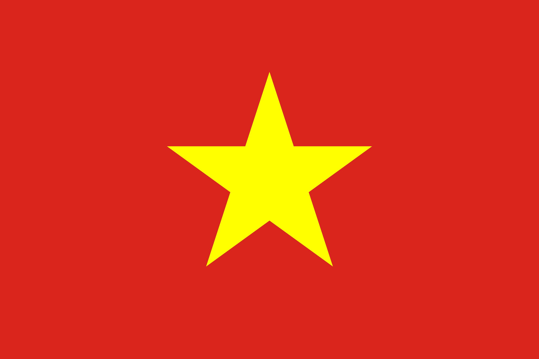 Vietnam Flag Colours