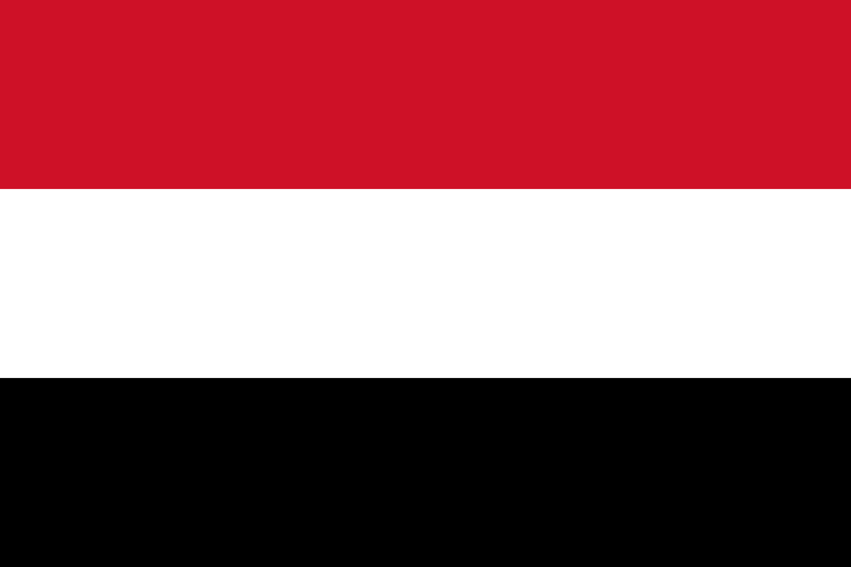 Yemen Flag Colours