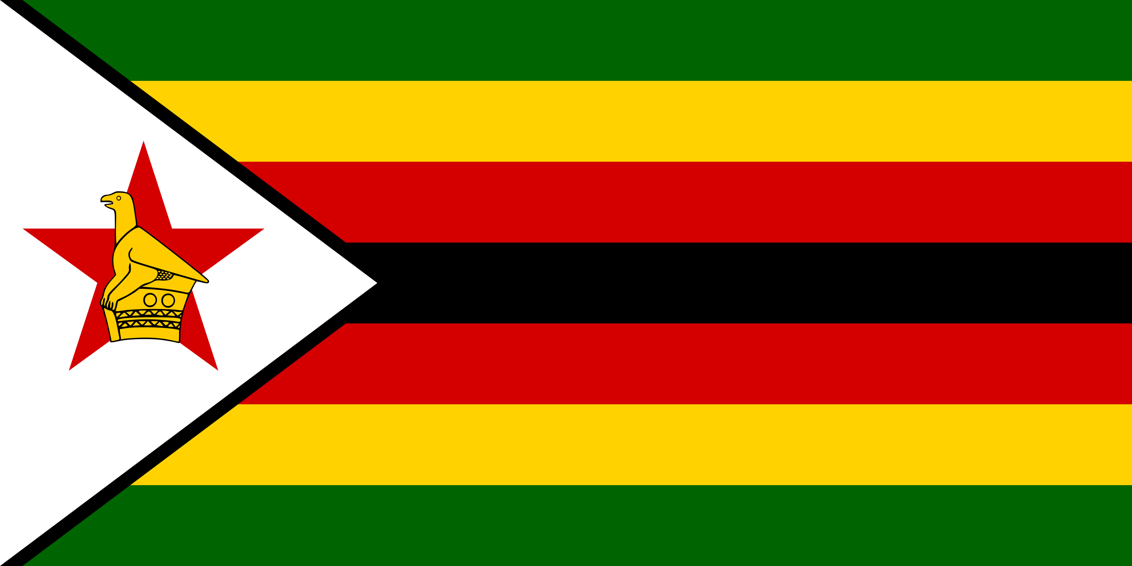 Zimbabwe Flag Colours