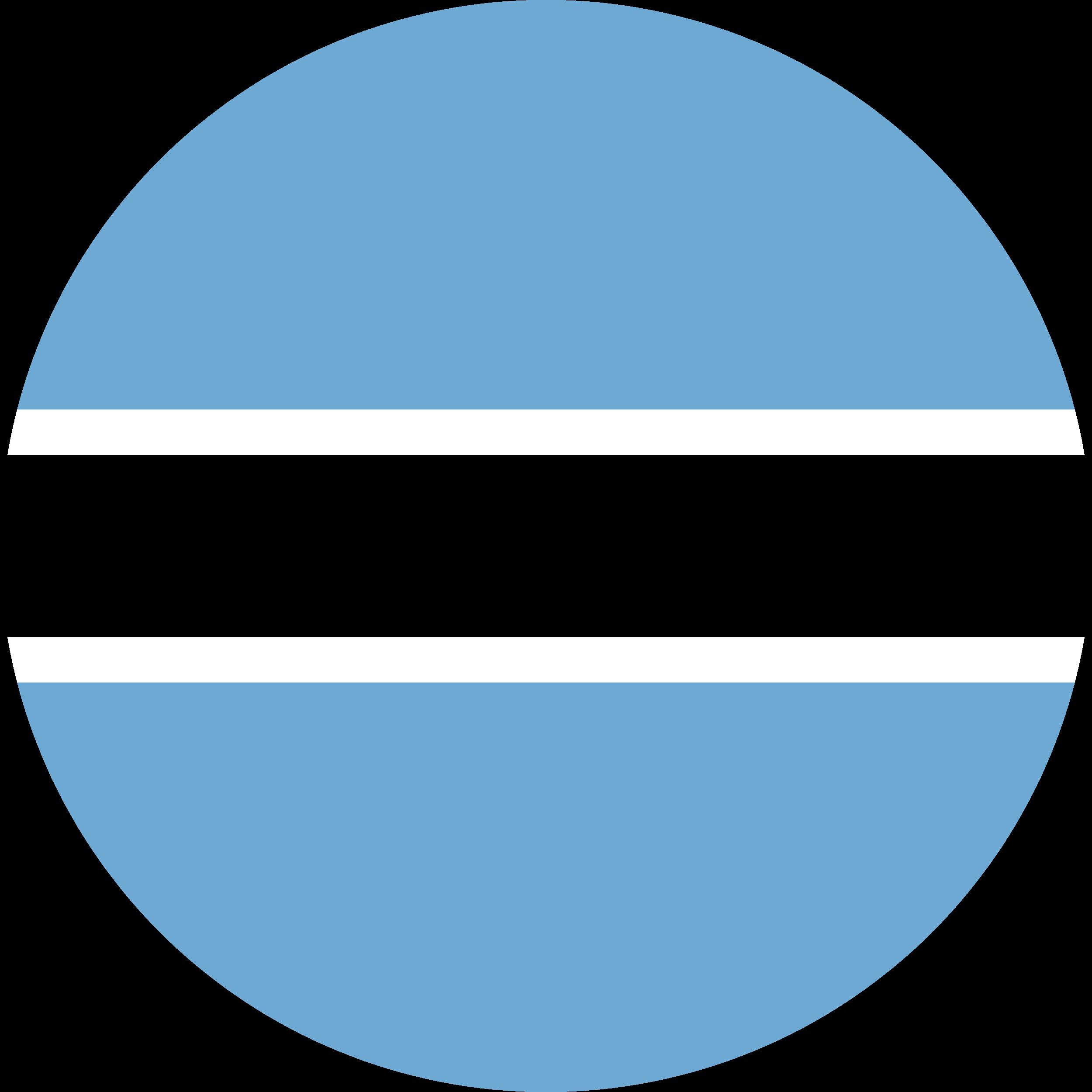 Botswana Flag Emoji