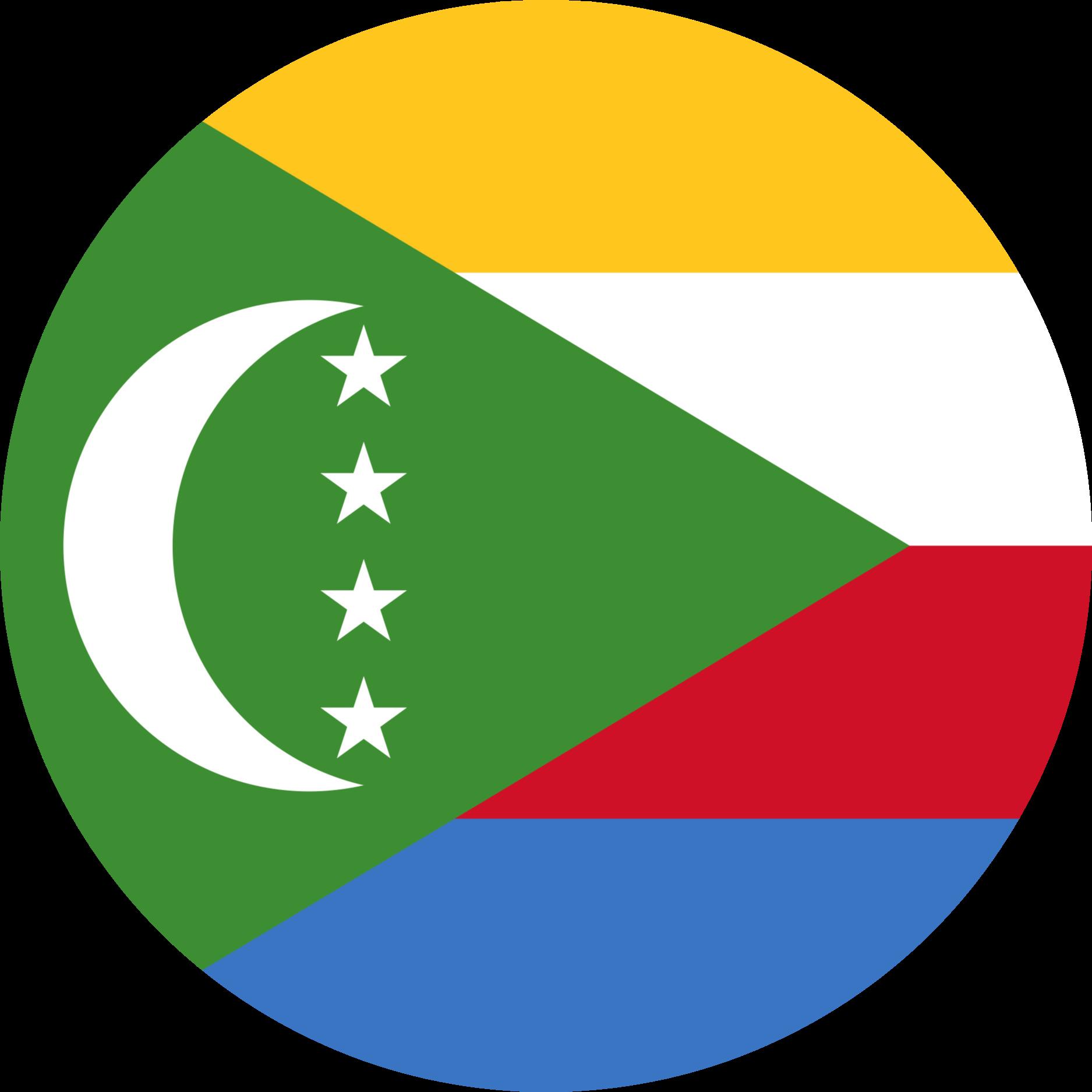 Comoros Flag Emoji