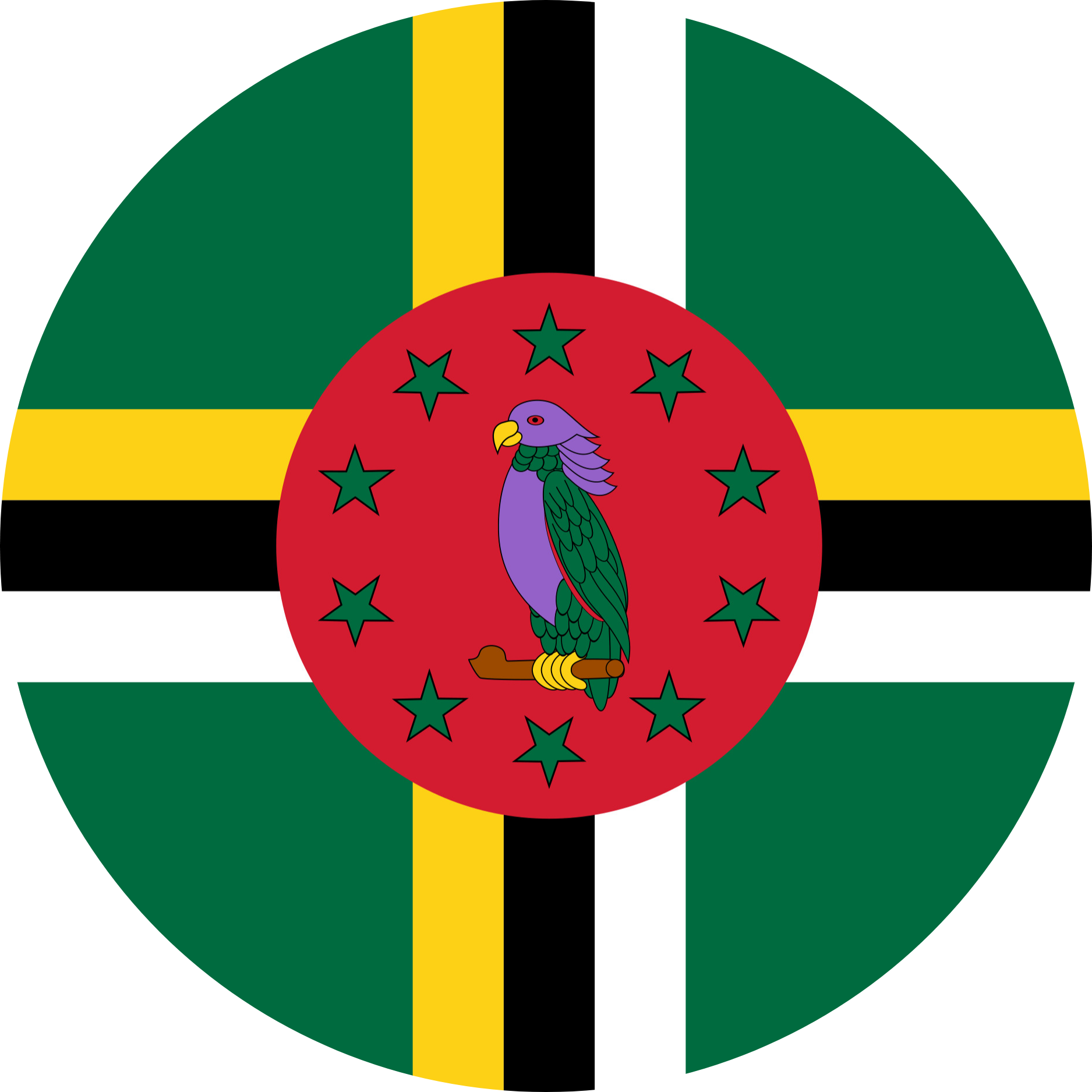Dominica Flag Emoji
