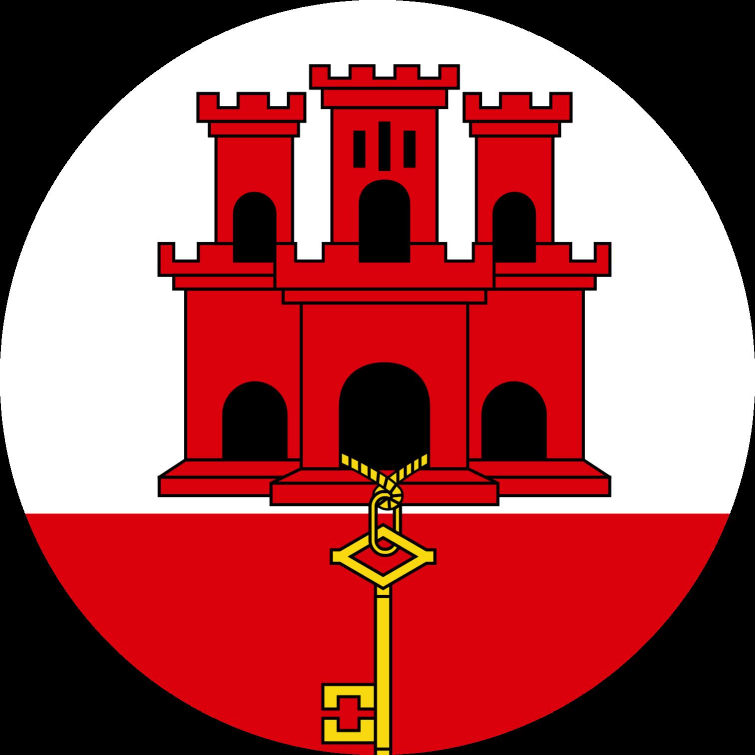 Gibraltar Flag Emoji