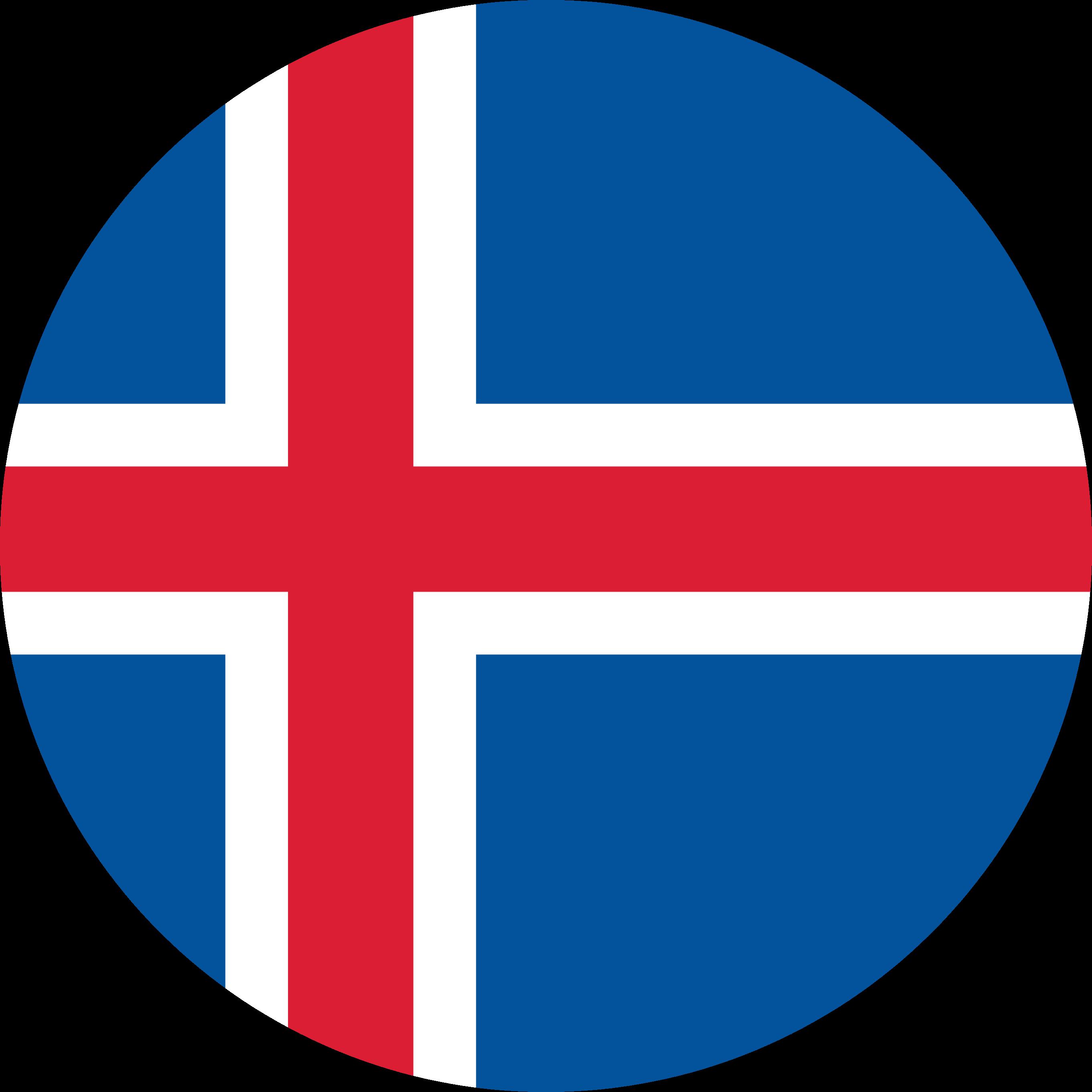 Iceland Flag Emoji
