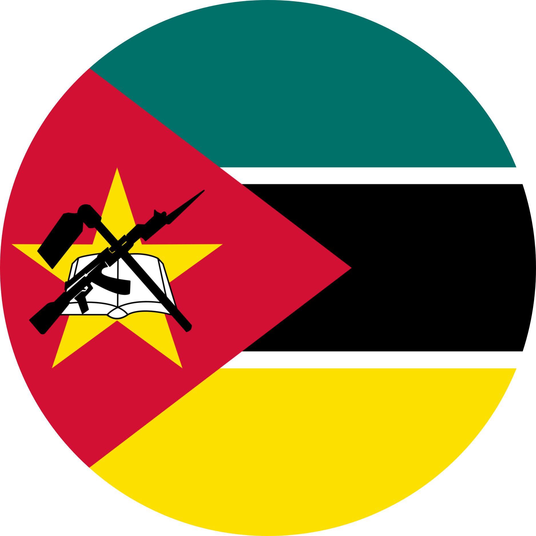 Mozambique Flag Emoji