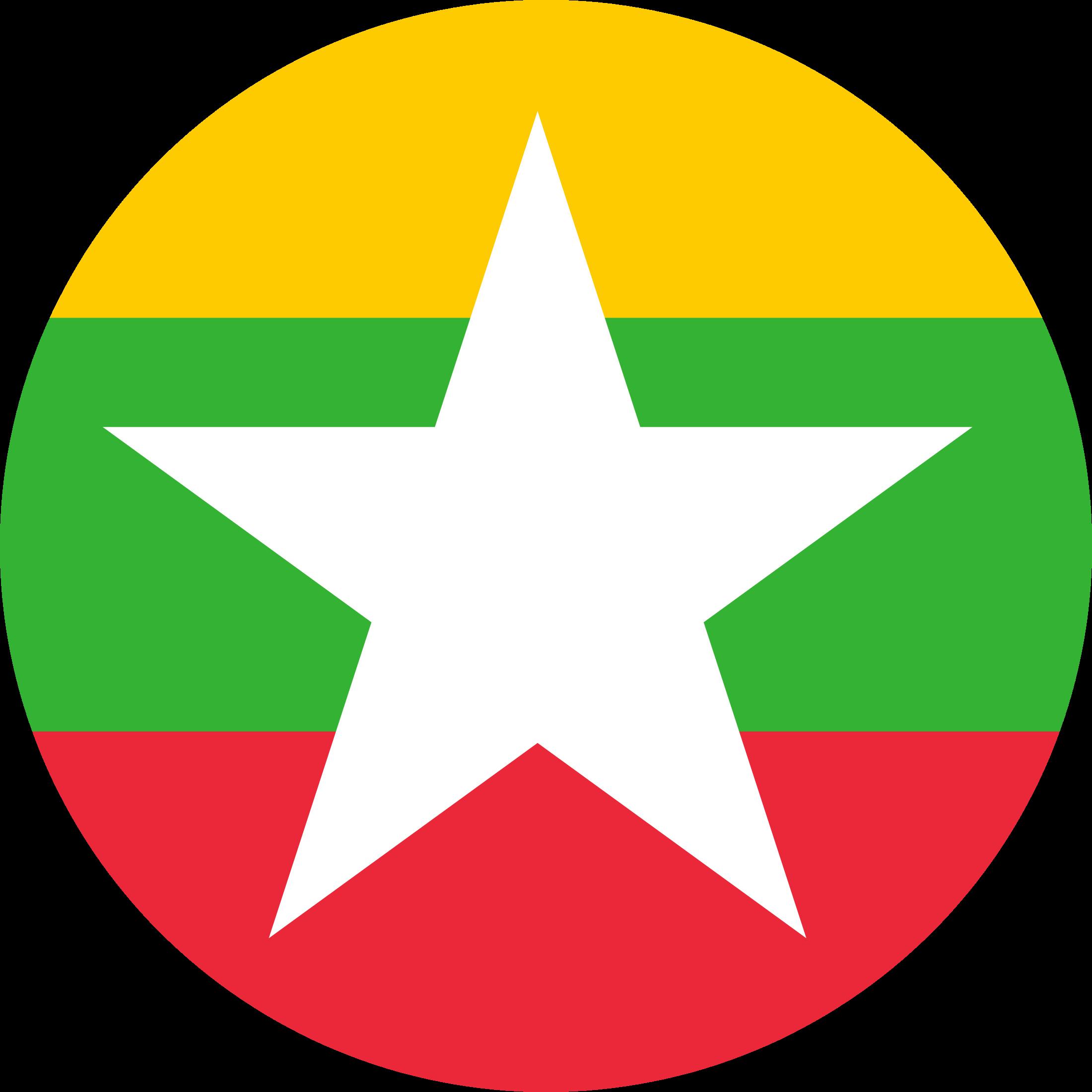 Myanmar Flag Emoji