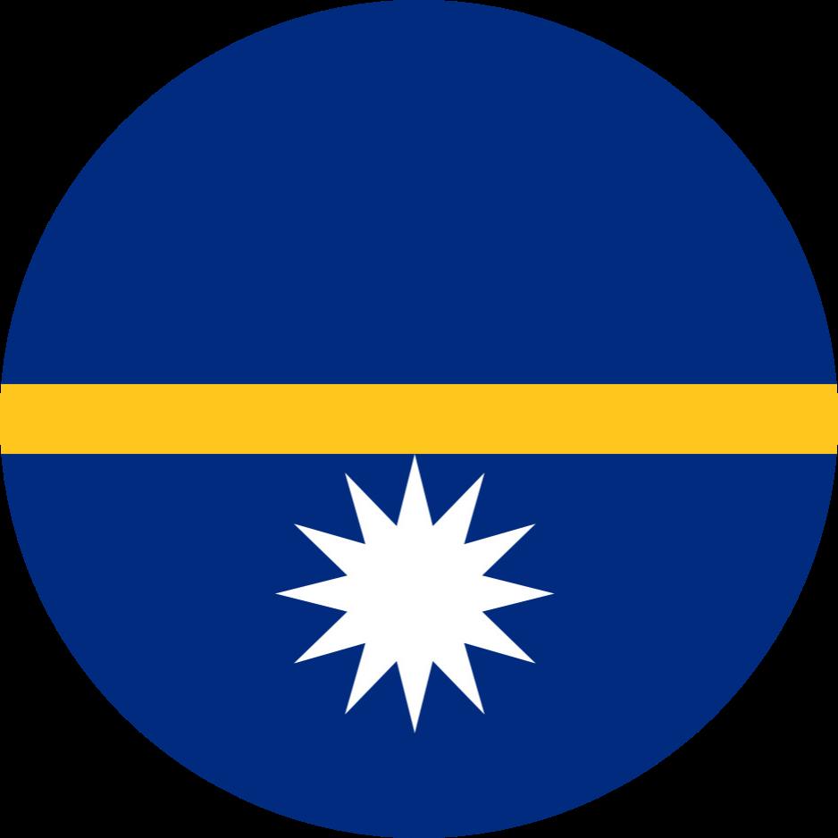 Nauru Flag Emoji