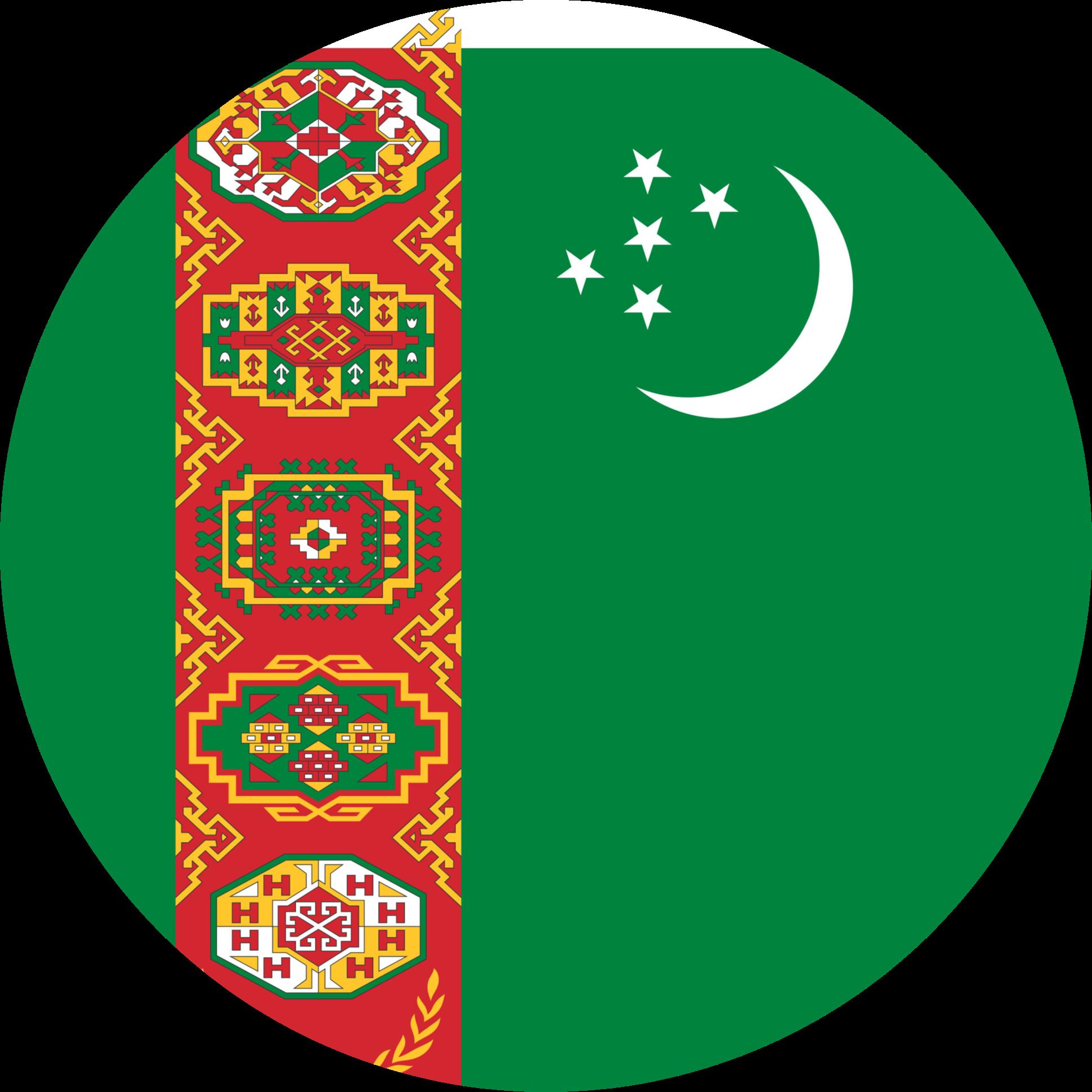 Turkmenistan Flag Emoji