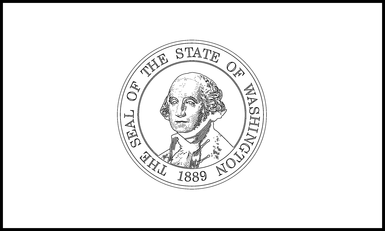 Washington Flag Coloring Page